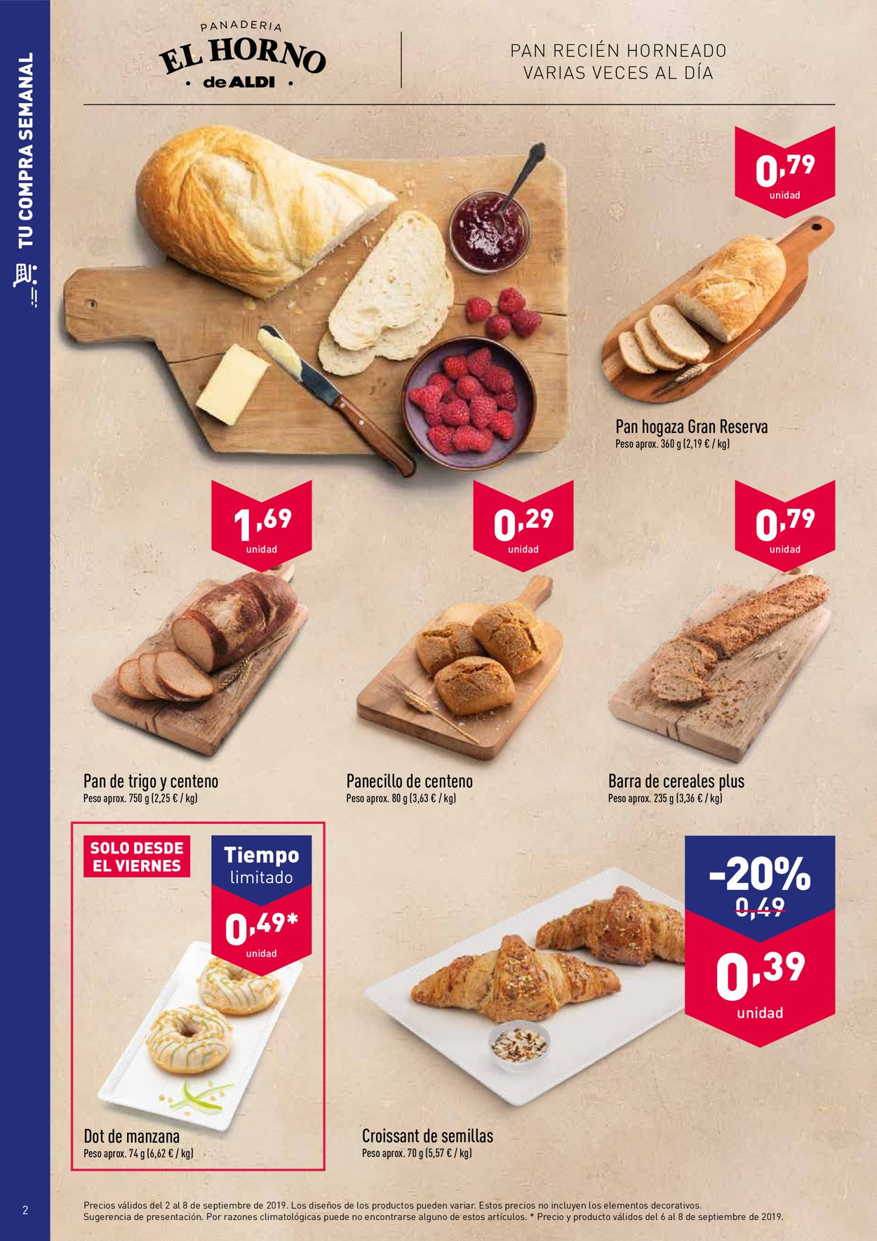 Aldi Folleto - 02.08-08.09.2019 (Página 2)