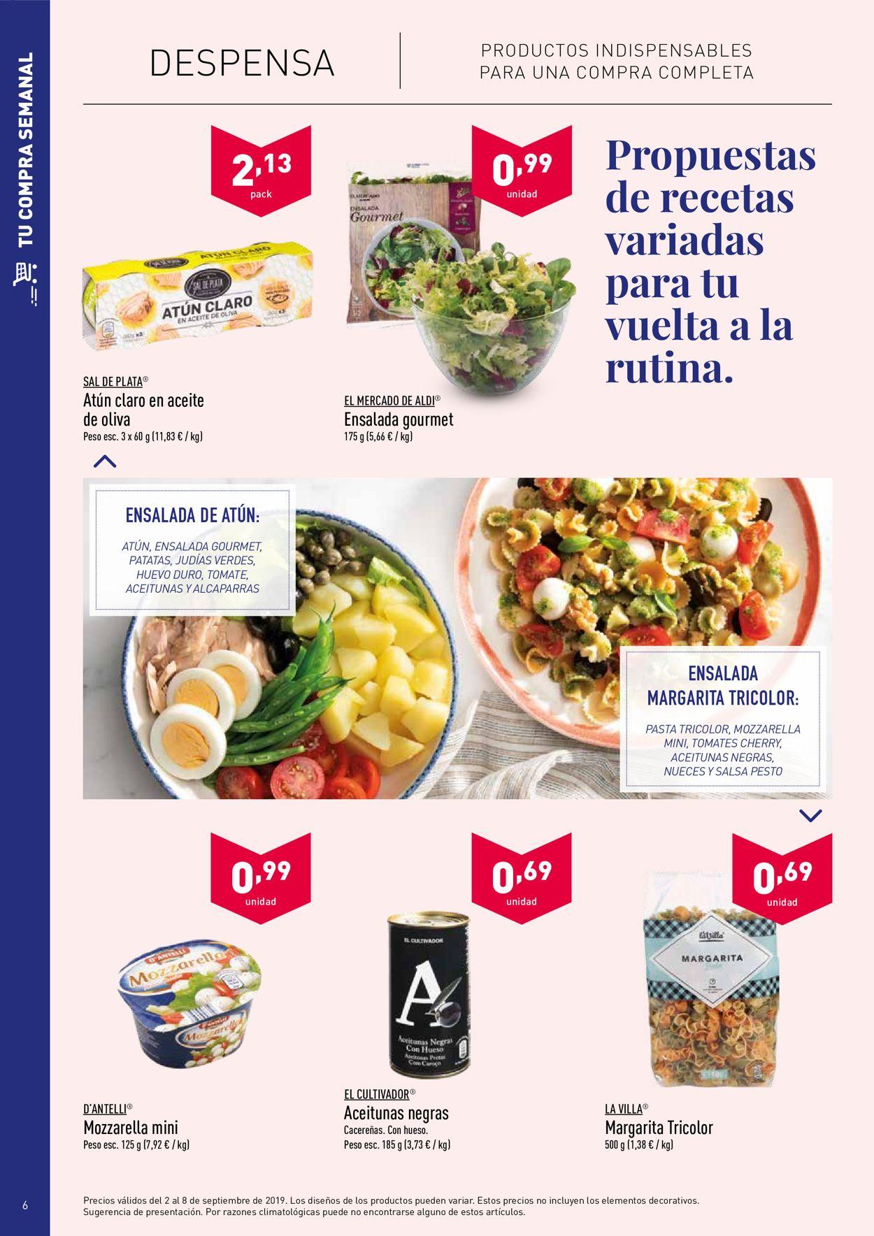 Aldi Folleto - 02.08-08.09.2019 (Página 6)