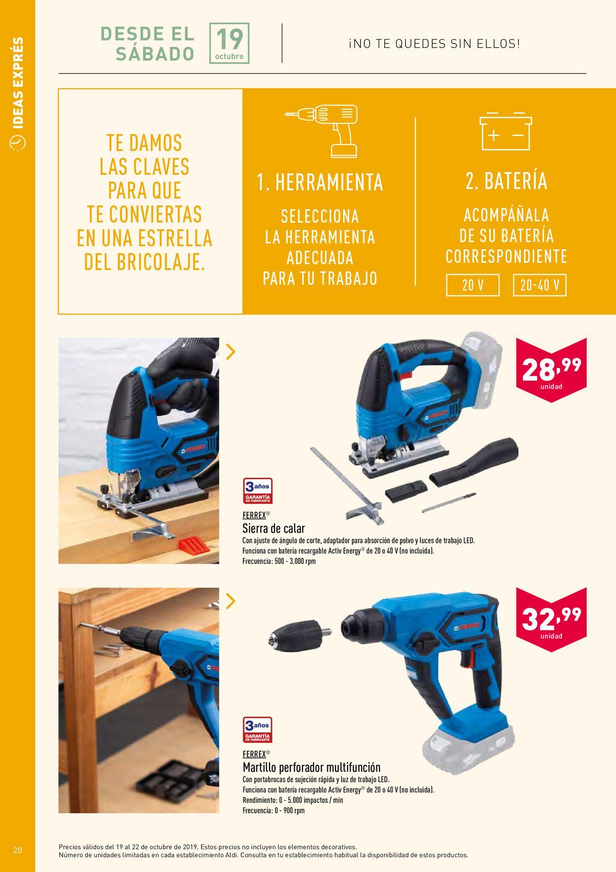 Aldi Folleto - 14.10-20.10.2019 (Página 20)