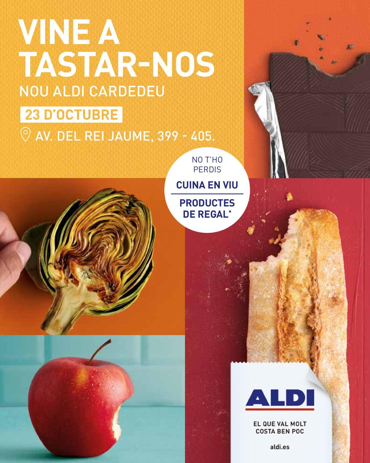 Aldi Folleto - 23.10-30.10.2019