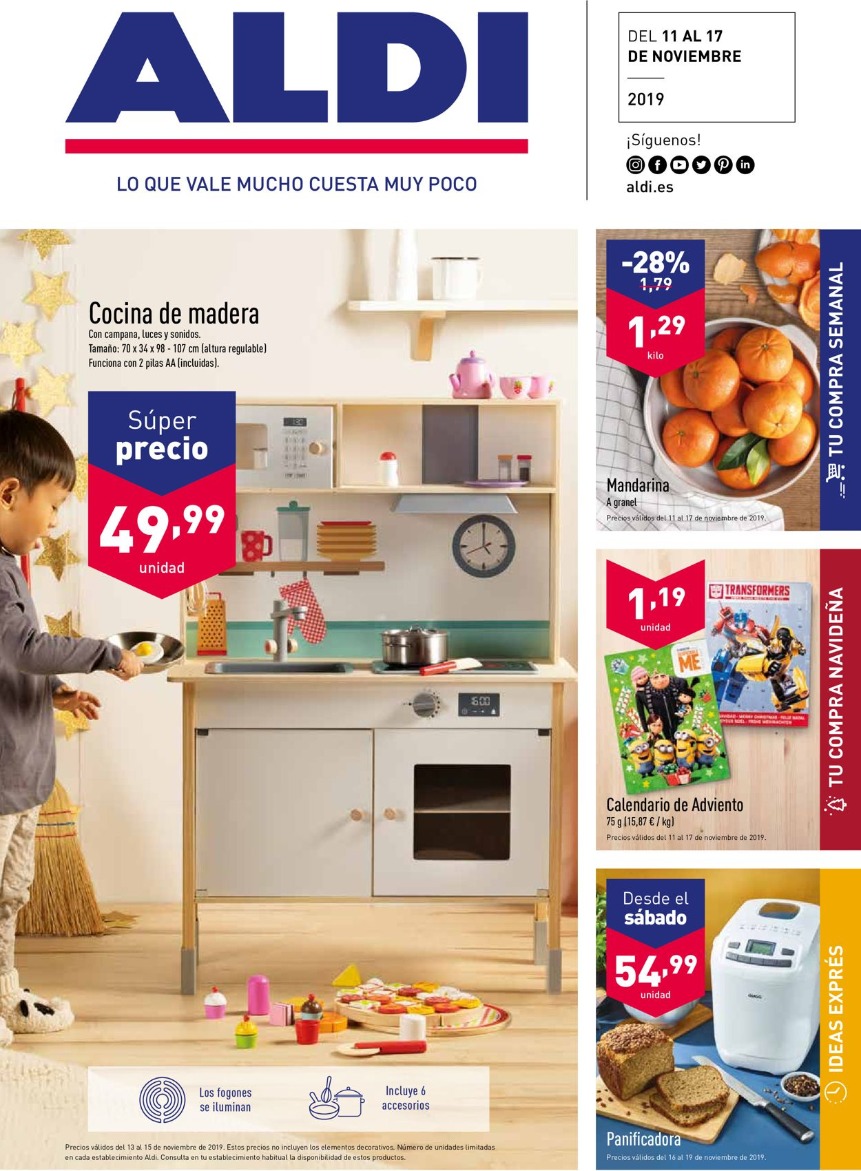 Aldi Folleto - 11.11-17.11.2019