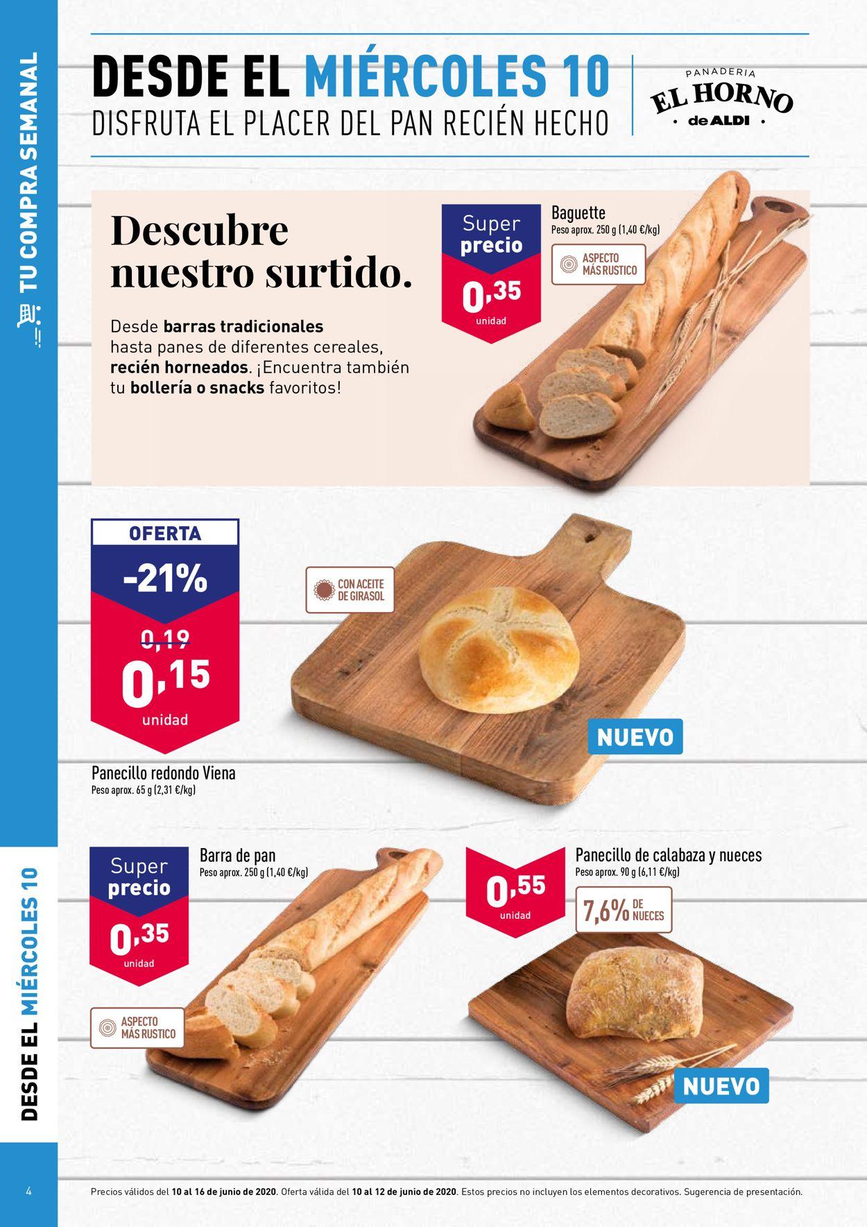 Aldi Folleto - 10.06-16.06.2020 (Página 4)