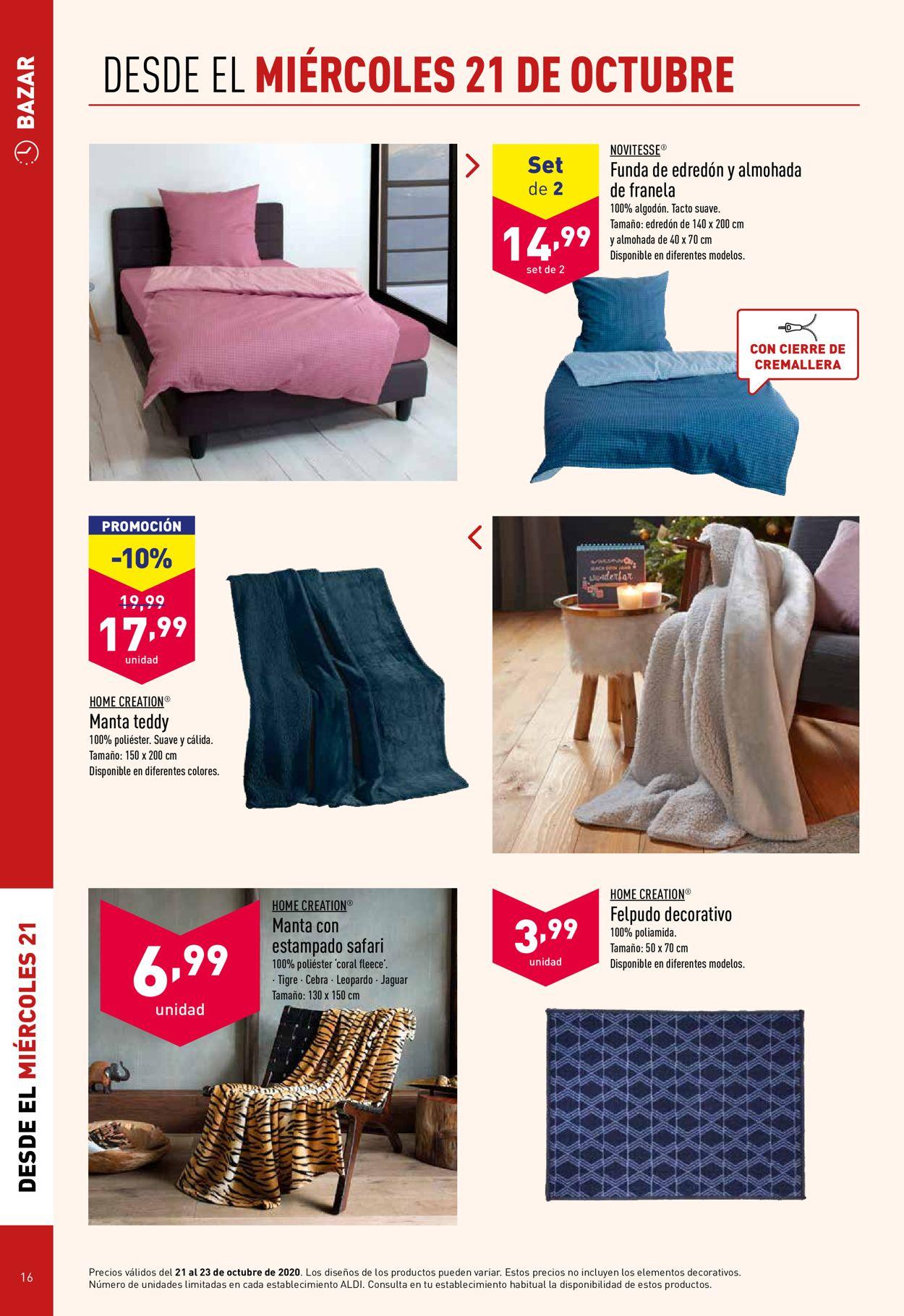 Aldi Folleto - 21.10-27.10.2020 (Página 16)