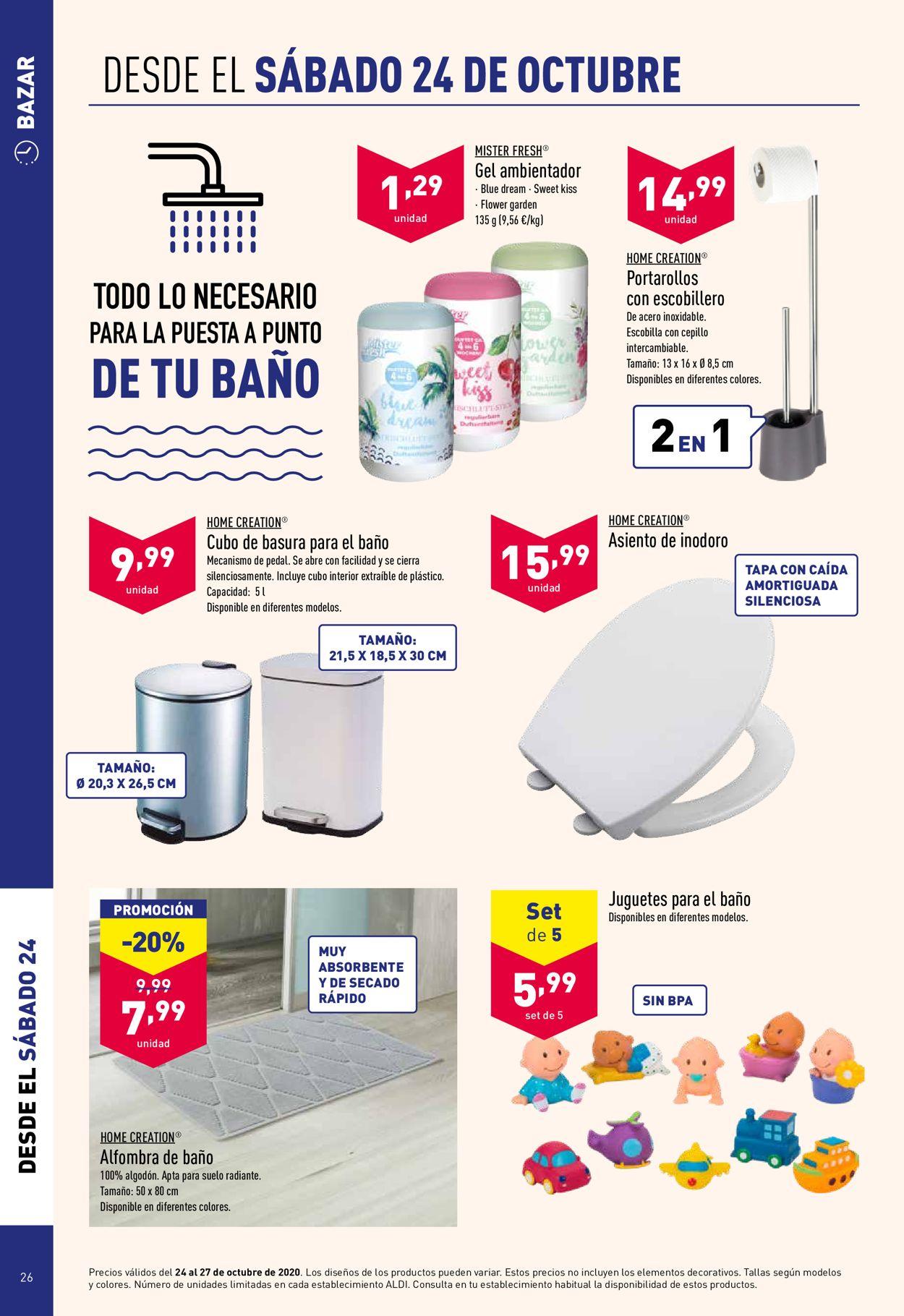 Aldi Folleto - 21.10-27.10.2020 (Página 26)