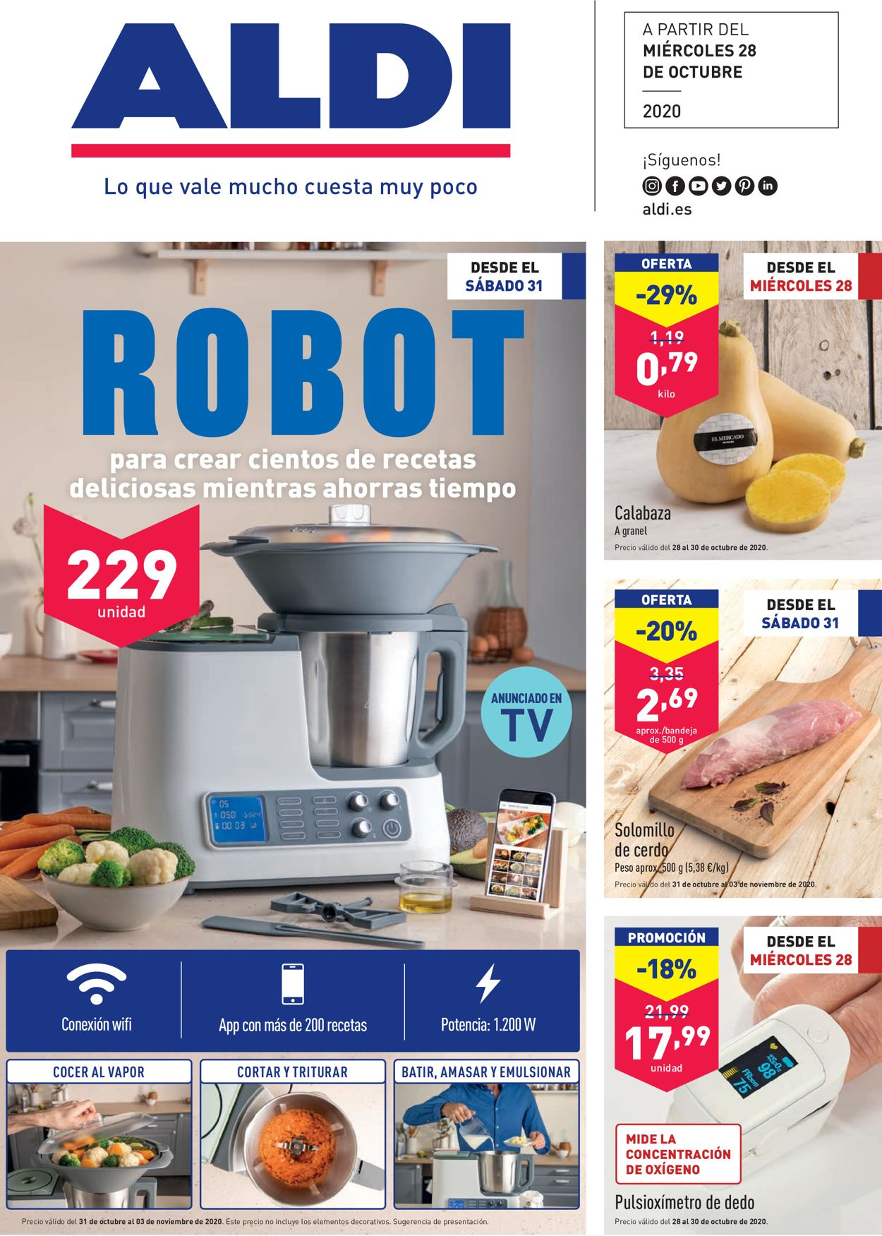 Aldi Folleto - 28.10-03.11.2020
