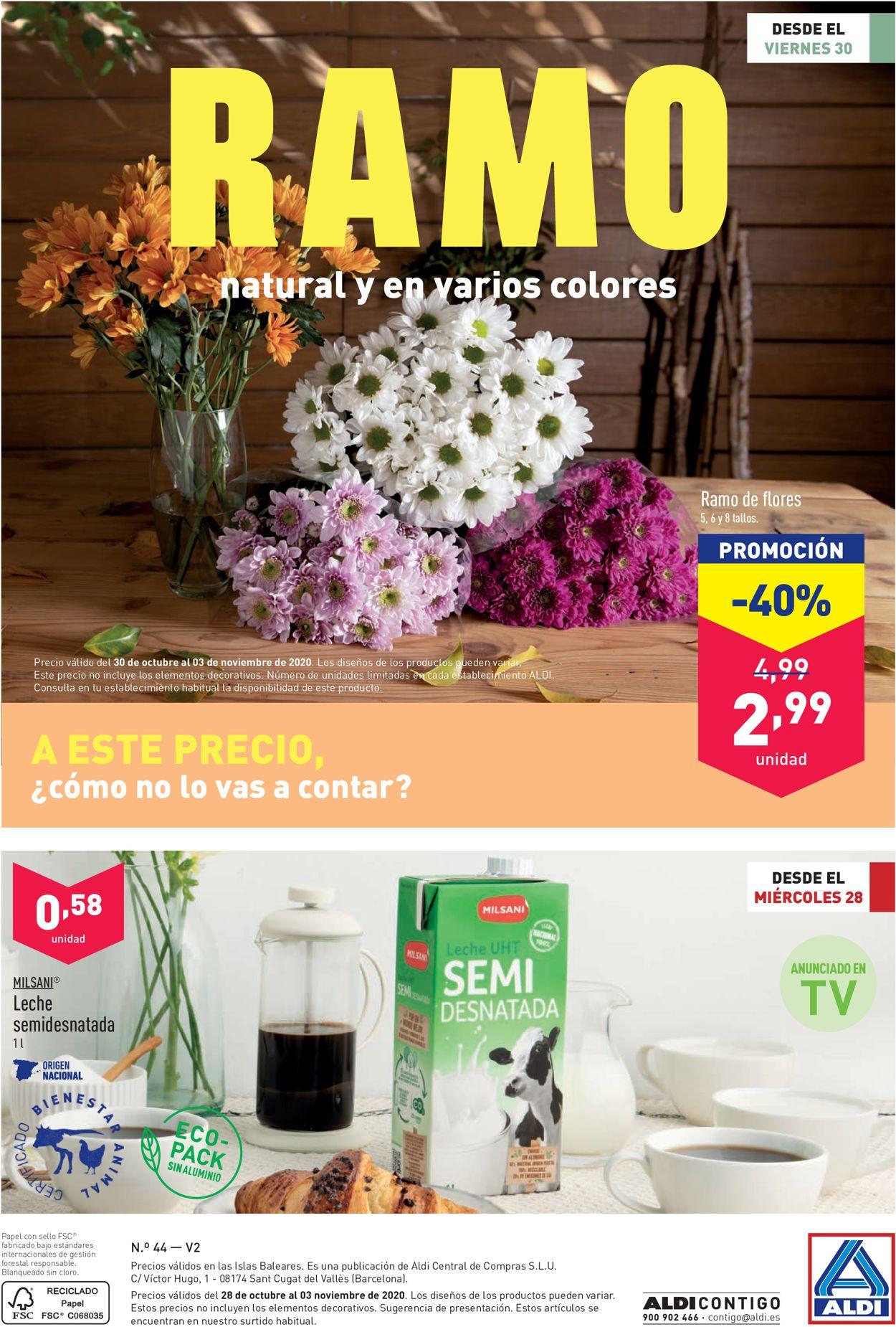 Aldi Folleto - 28.10-03.11.2020 (Página 28)
