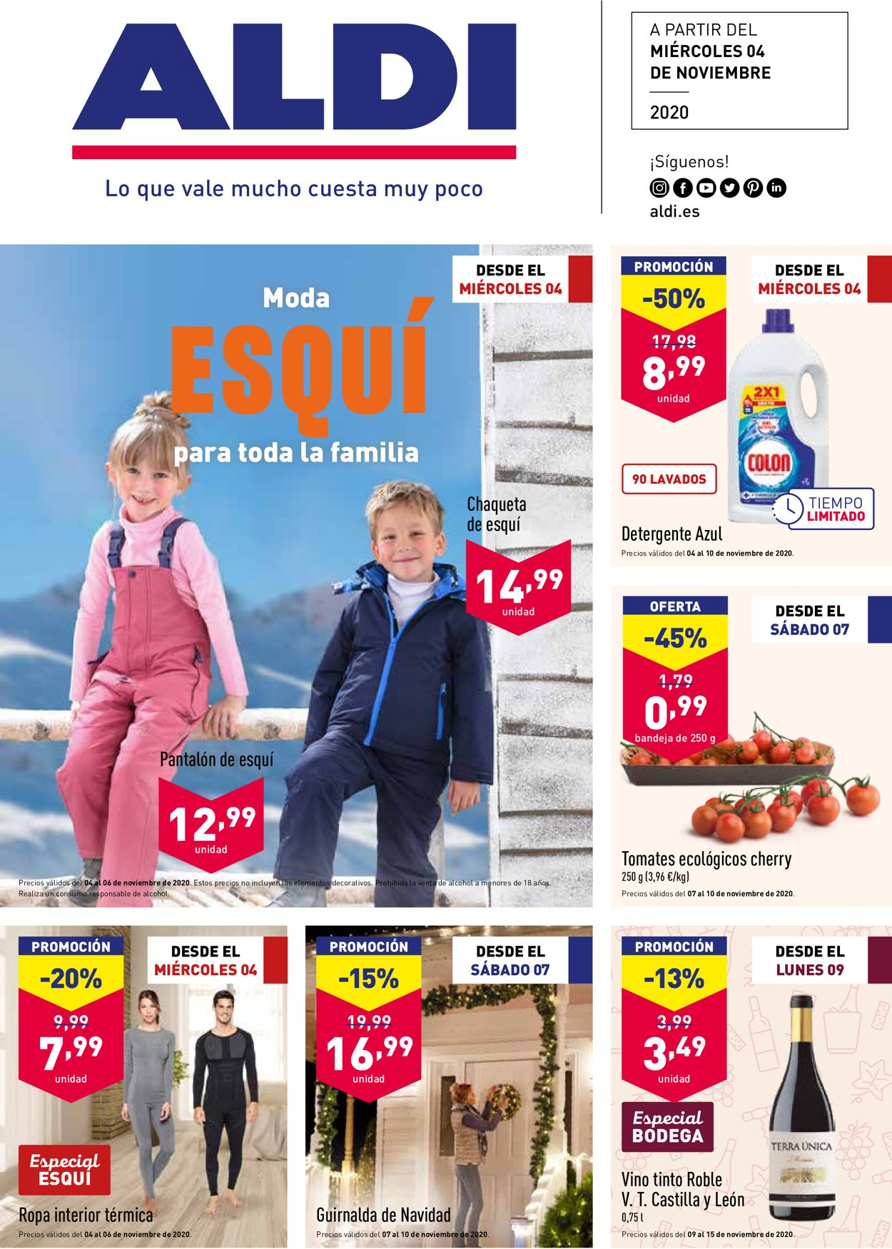 Aldi Folleto - 04.11-10.11.2020