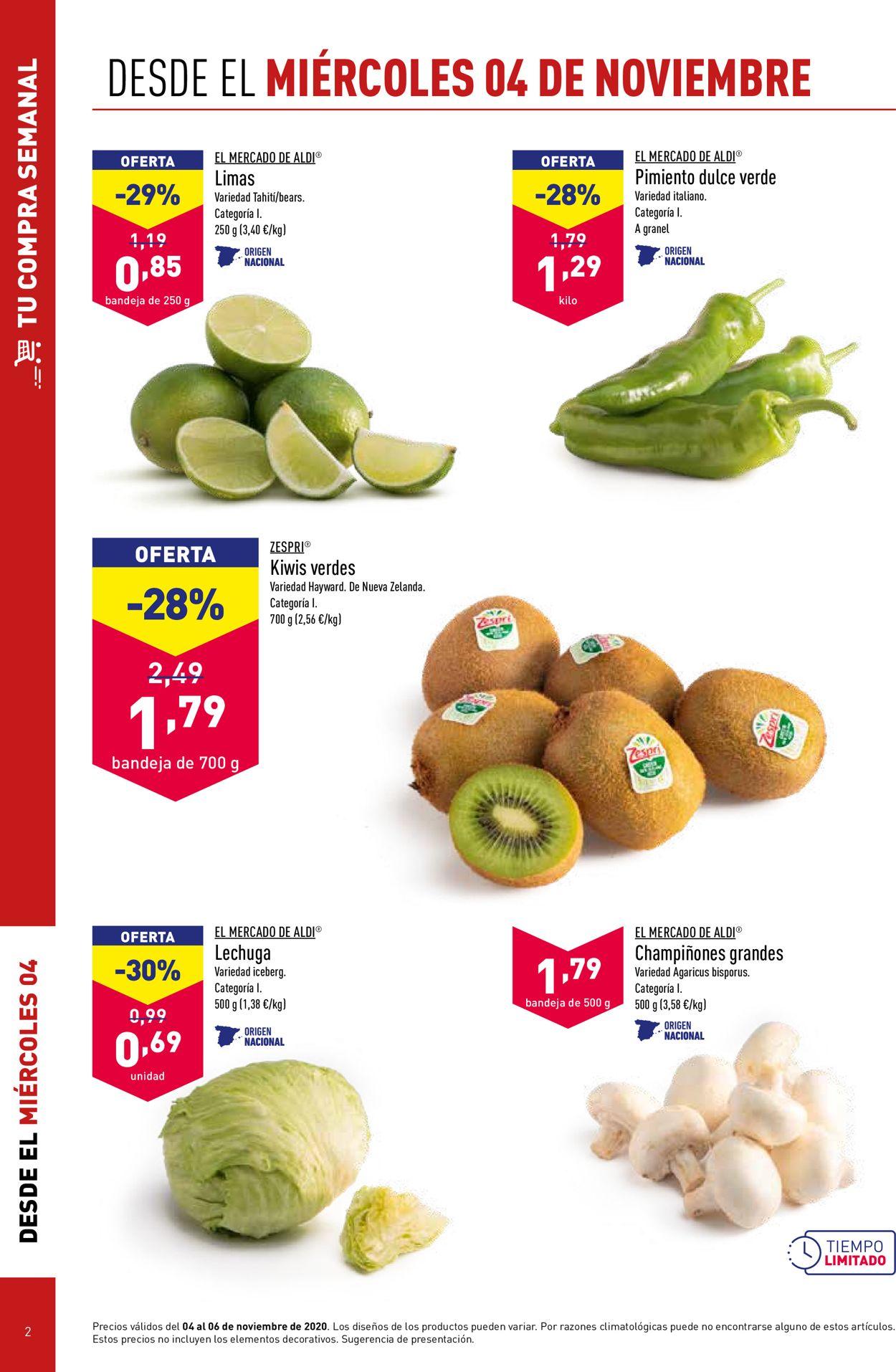 Aldi Folleto - 04.11-10.11.2020 (Página 2)