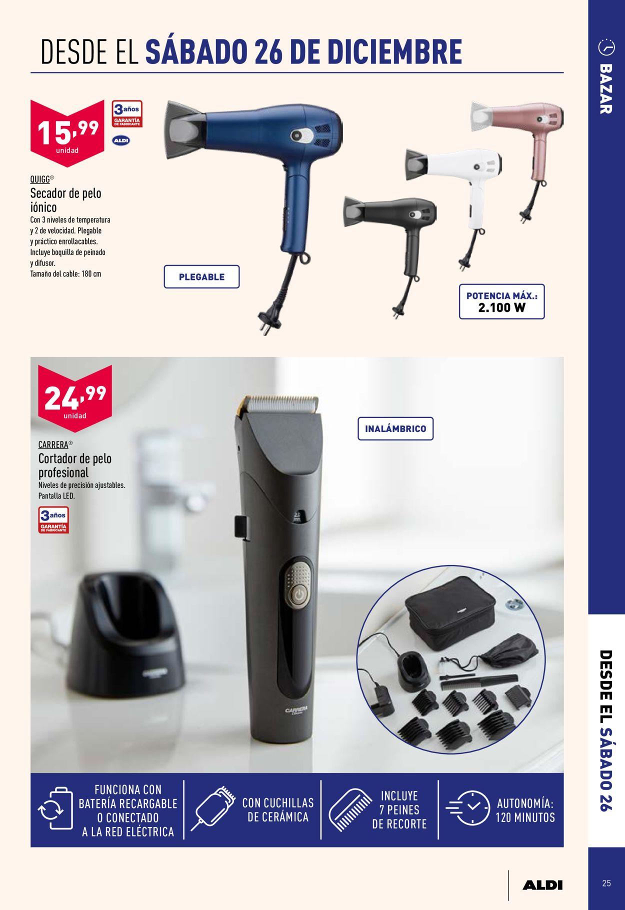Aldi Folleto - 23.12-29.12.2020 (Página 25)