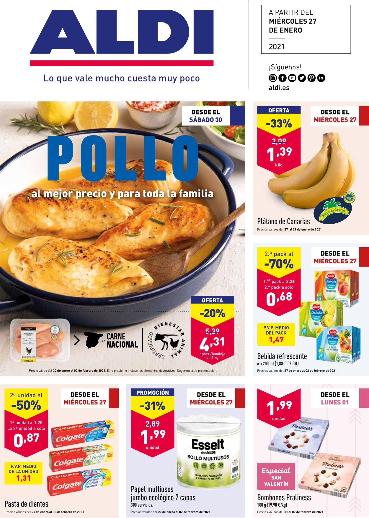 Aldi Folleto - 27.01-02.02.2021