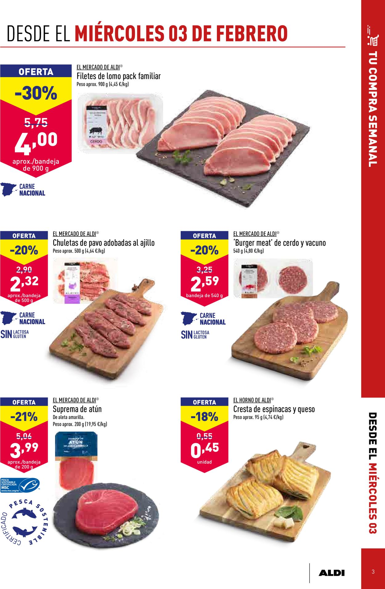 Aldi Folleto - 03.02-09.02.2021 (Página 3)