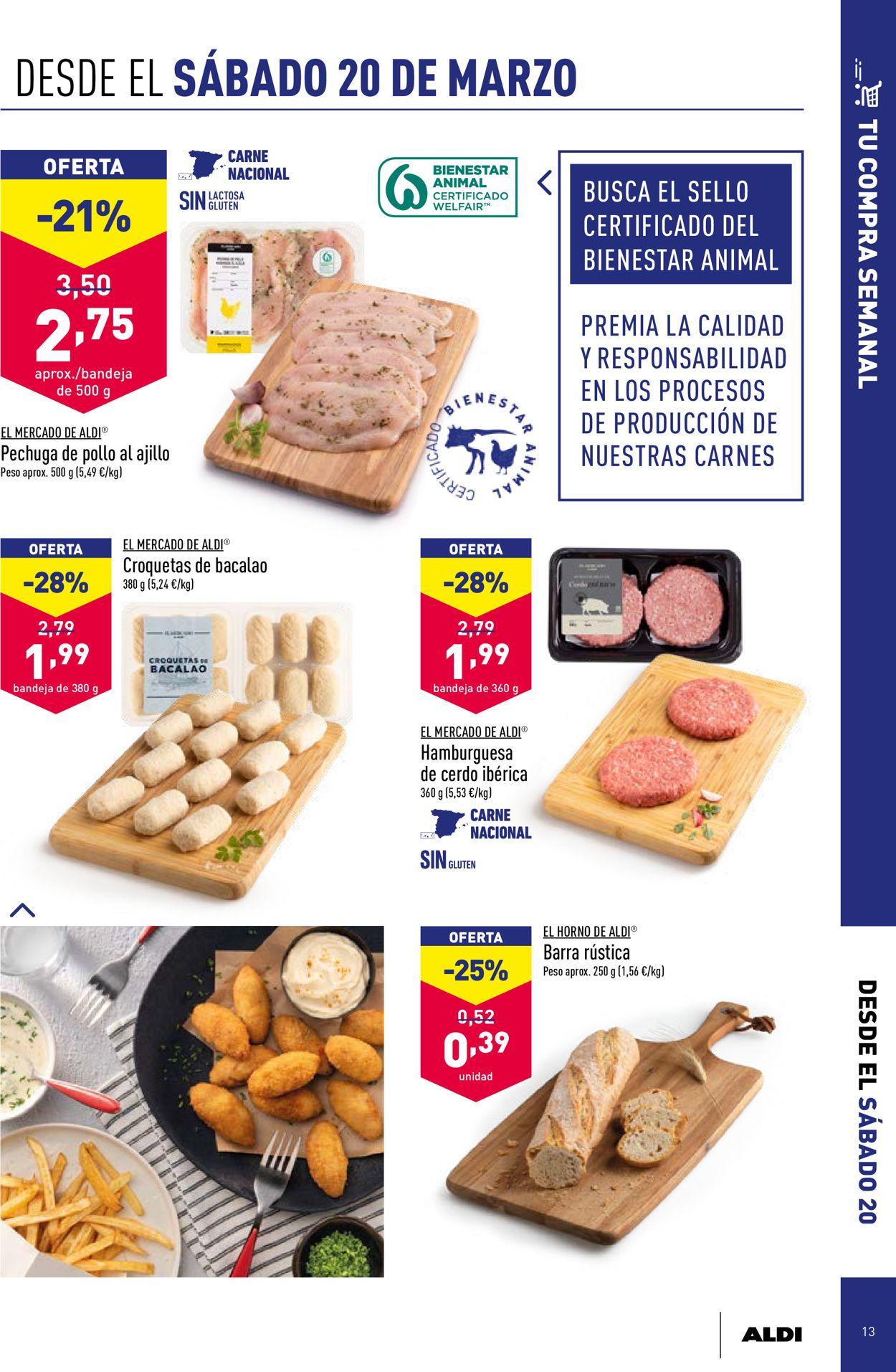 Aldi Folleto - 17.03-23.03.2021 (Página 13)