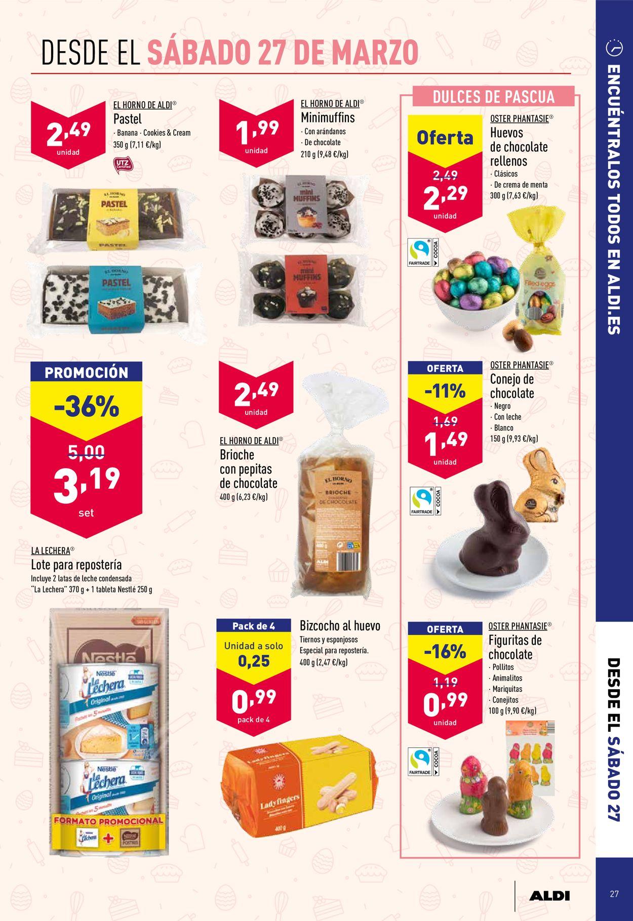 Aldi Folleto - 24.03-30.03.2021 (Página 27)