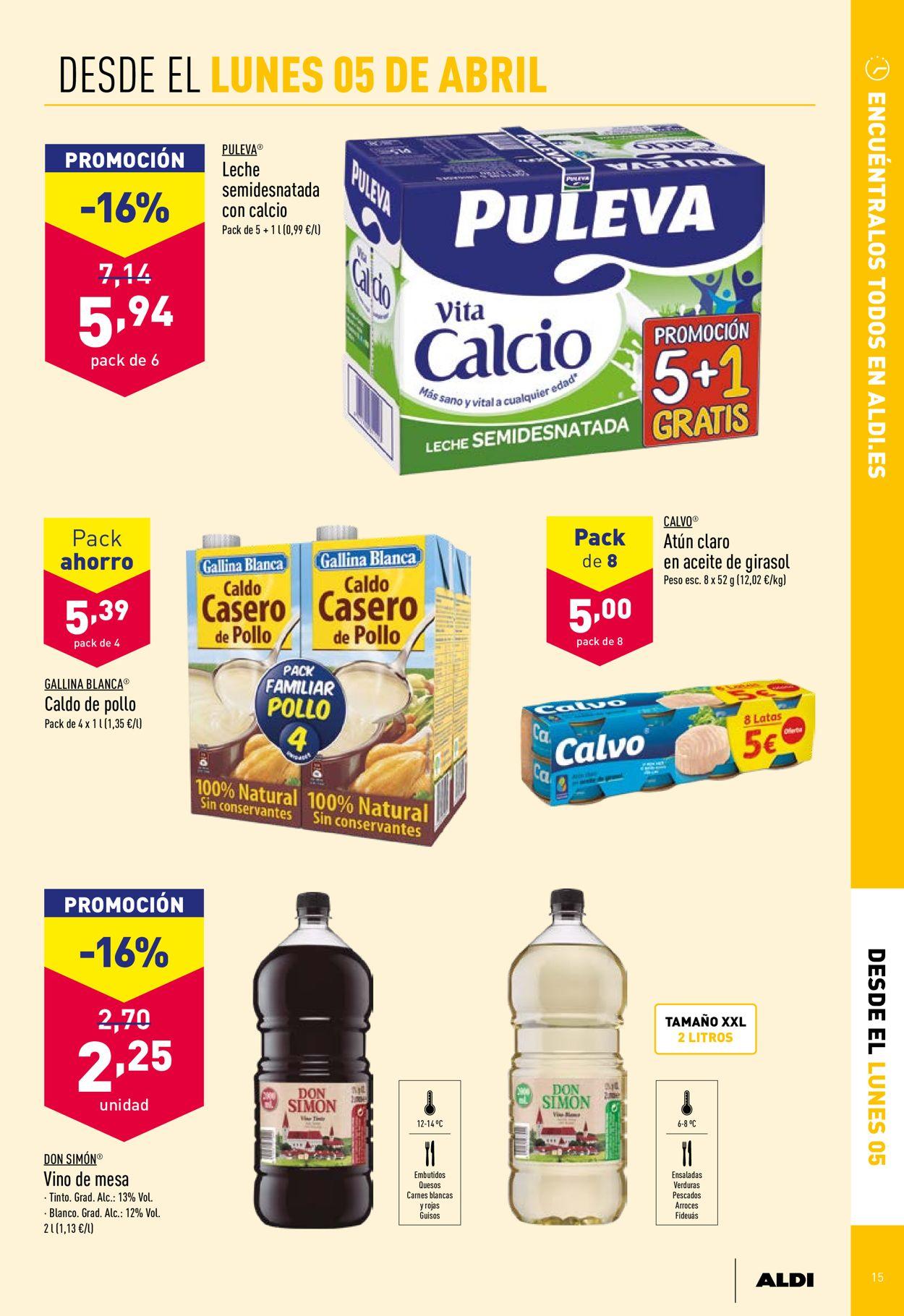 Aldi Folleto - 31.03-06.04.2021 (Página 15)