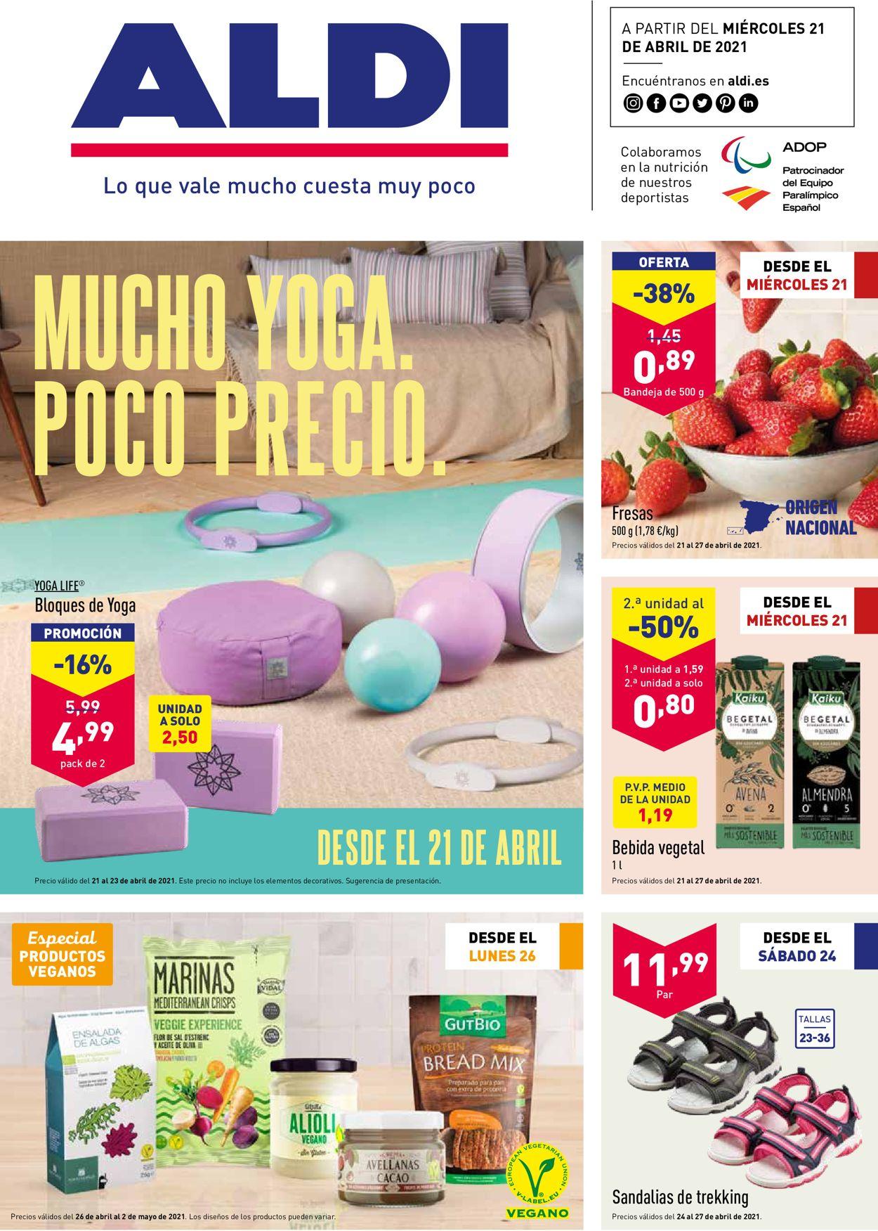 Aldi Folleto - 21.04-27.04.2021
