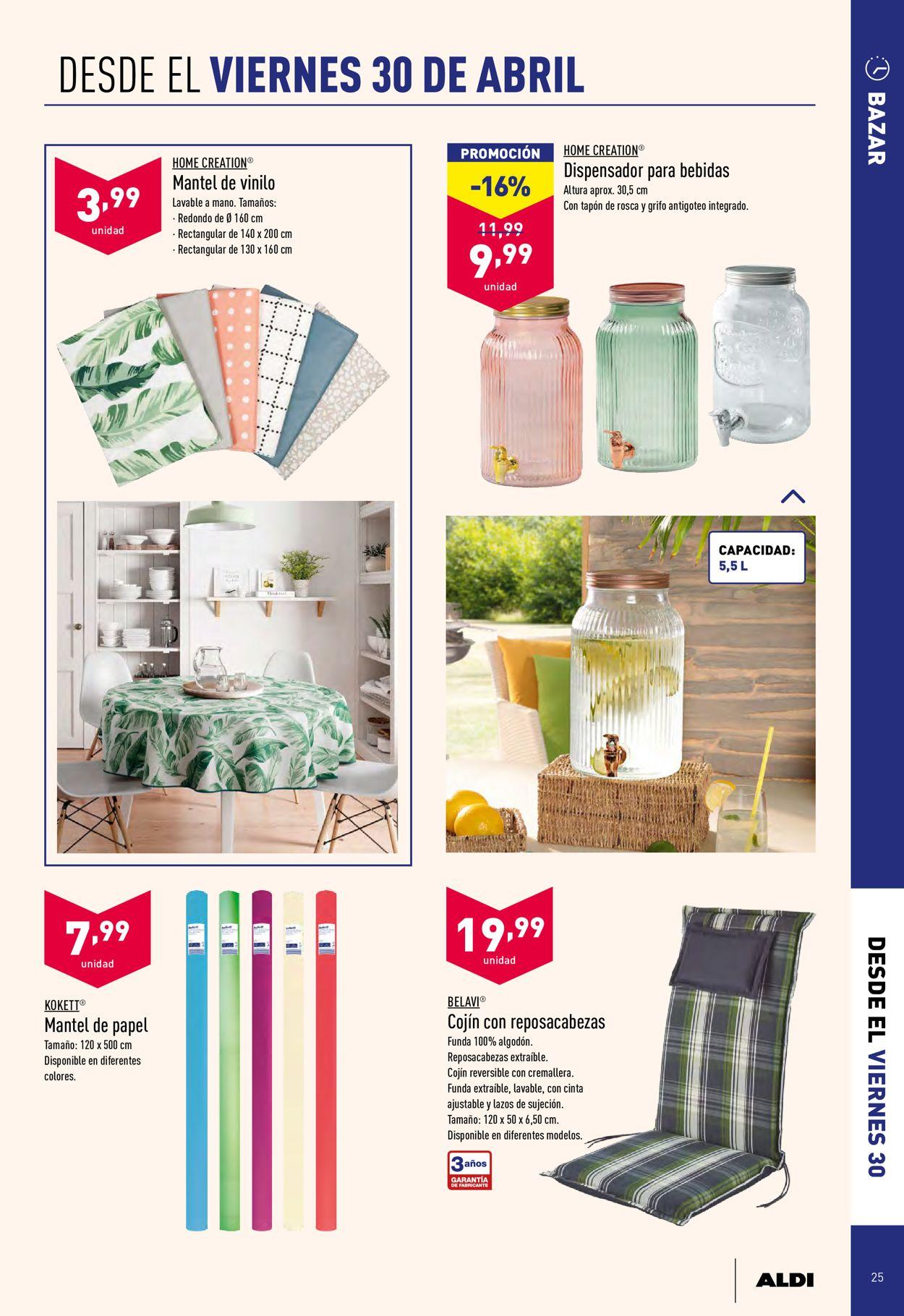 Aldi Folleto - 28.04-04.05.2021 (Página 25)