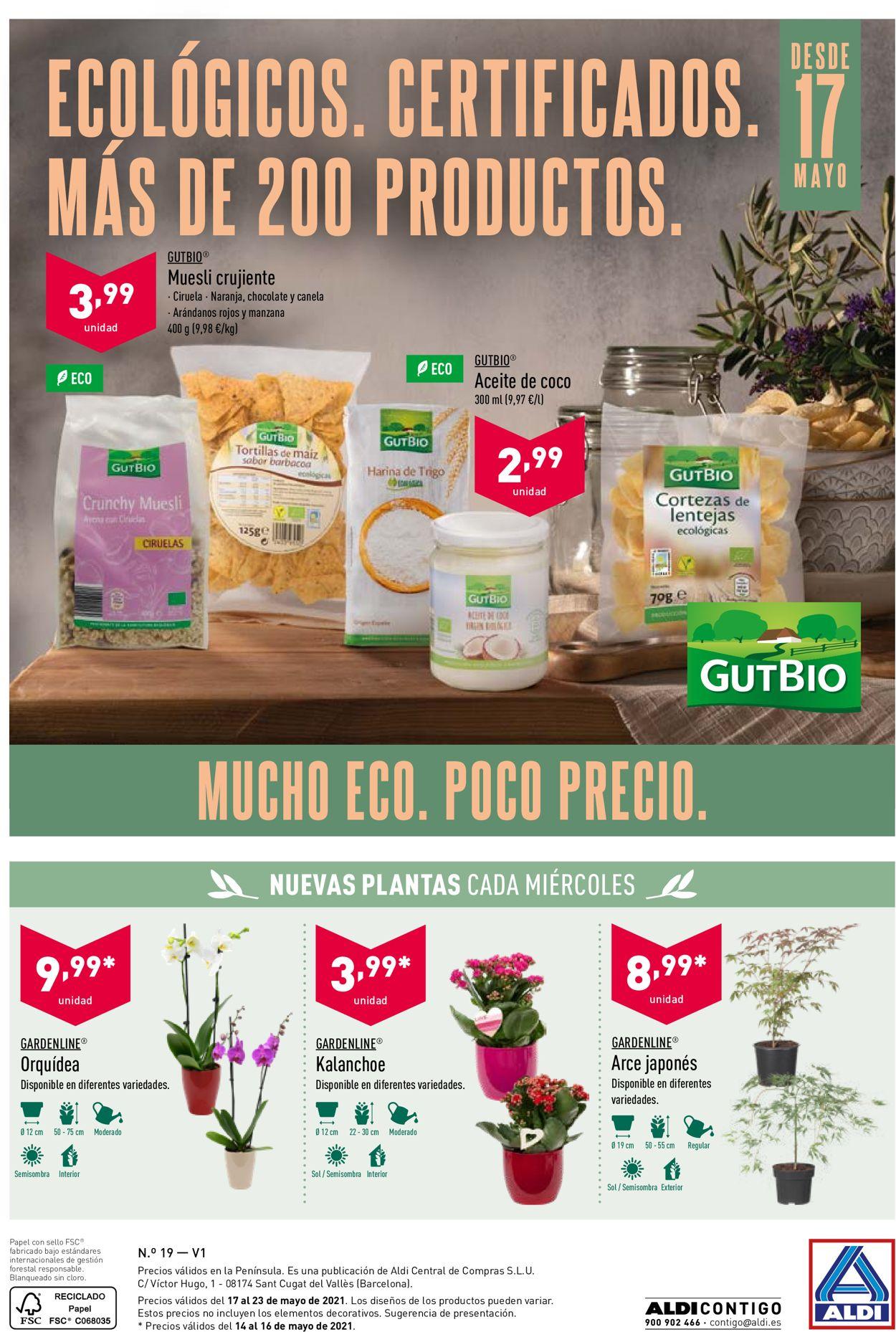 Aldi Folleto - 12.05-18.05.2021 (Página 28)