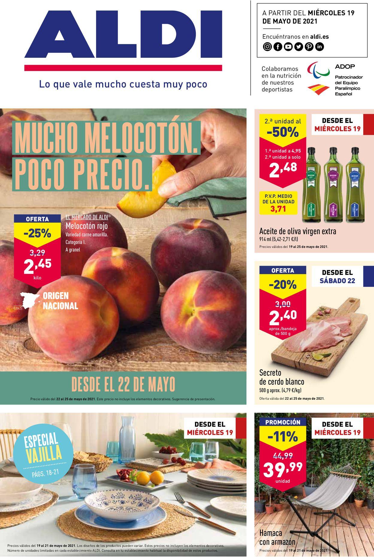 Aldi Folleto - 19.05-25.05.2021