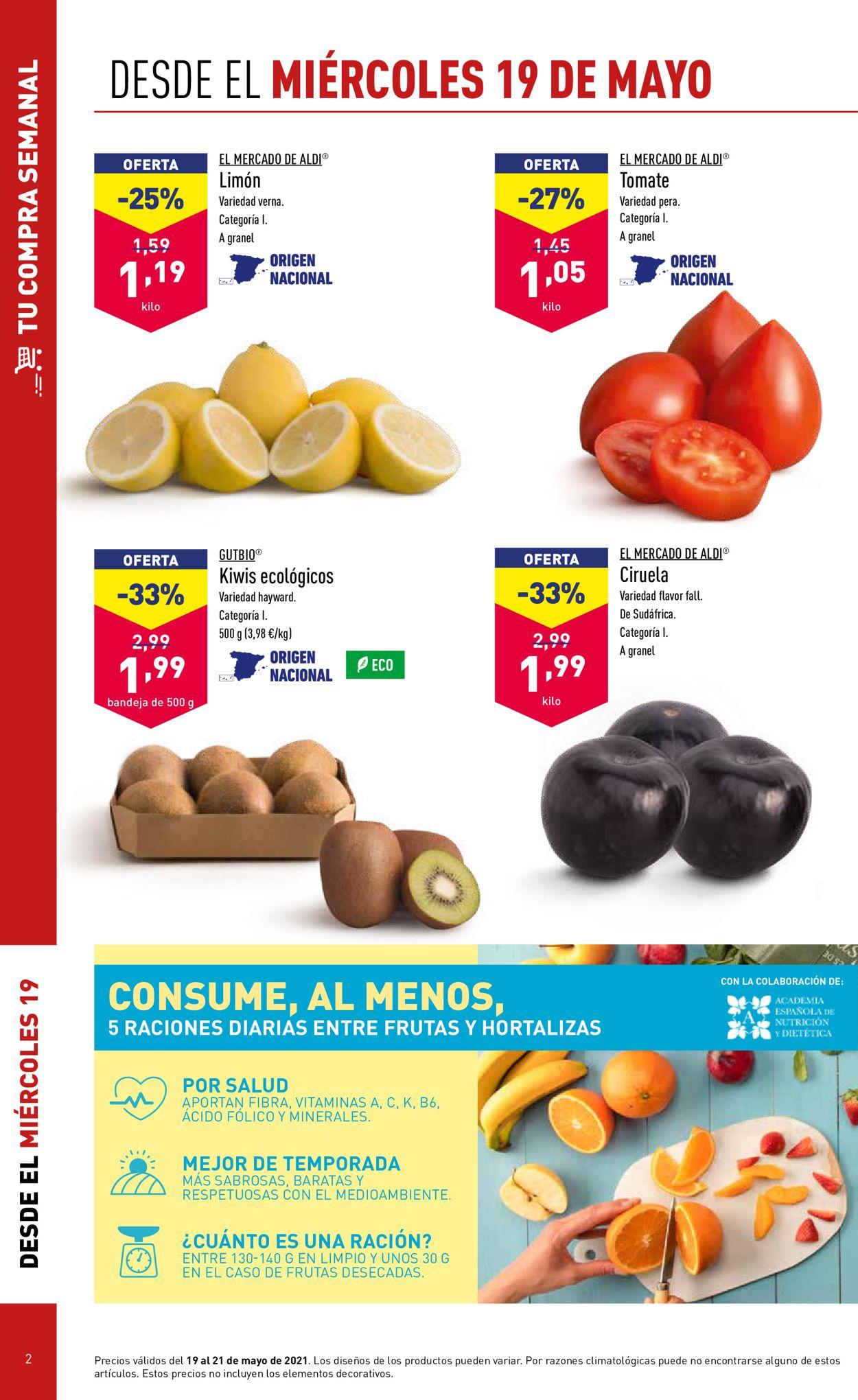 Aldi Folleto - 19.05-25.05.2021 (Página 2)