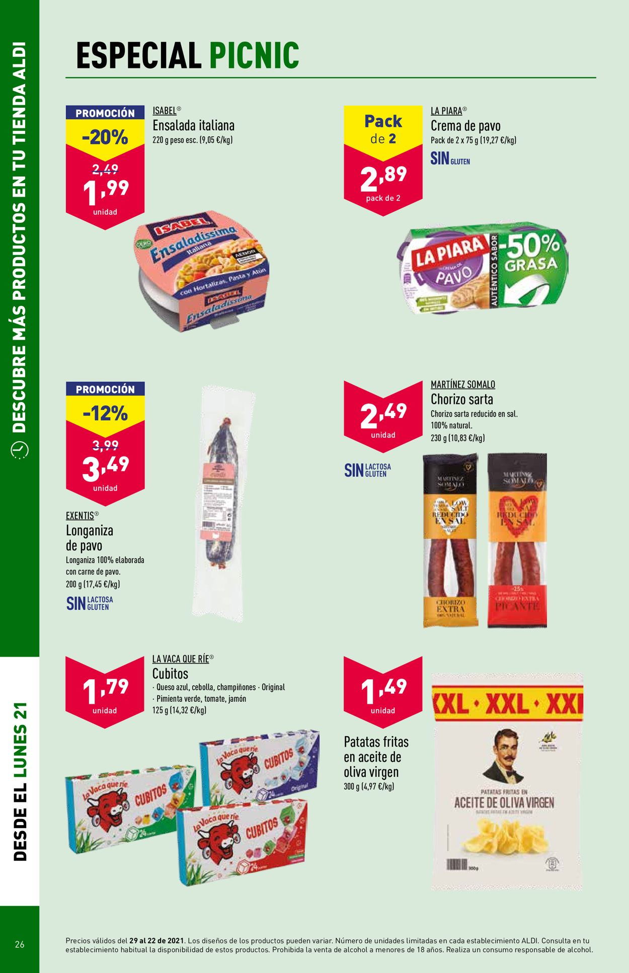 Aldi Folleto - 16.06-22.06.2021 (Página 26)