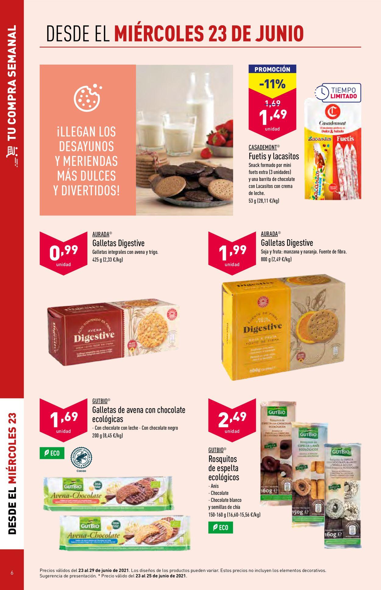 Aldi Folleto - 23.06-29.06.2021 (Página 6)