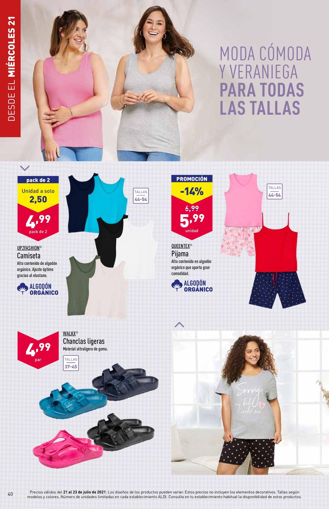 Aldi Folleto - 21.07-27.07.2021 (Página 40)