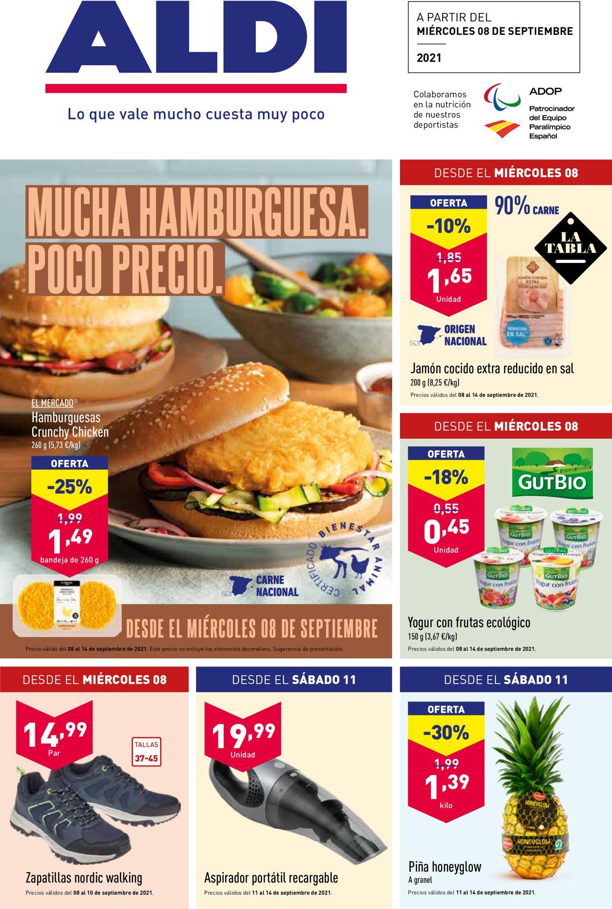 Aldi Folleto - 08.09-14.09.2021