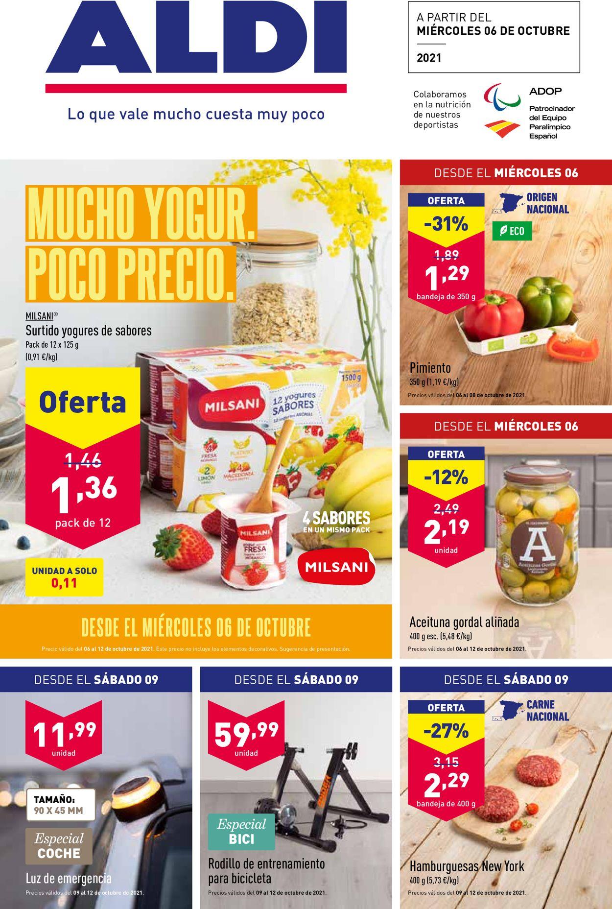 Aldi Folleto - 06.10-12.10.2021