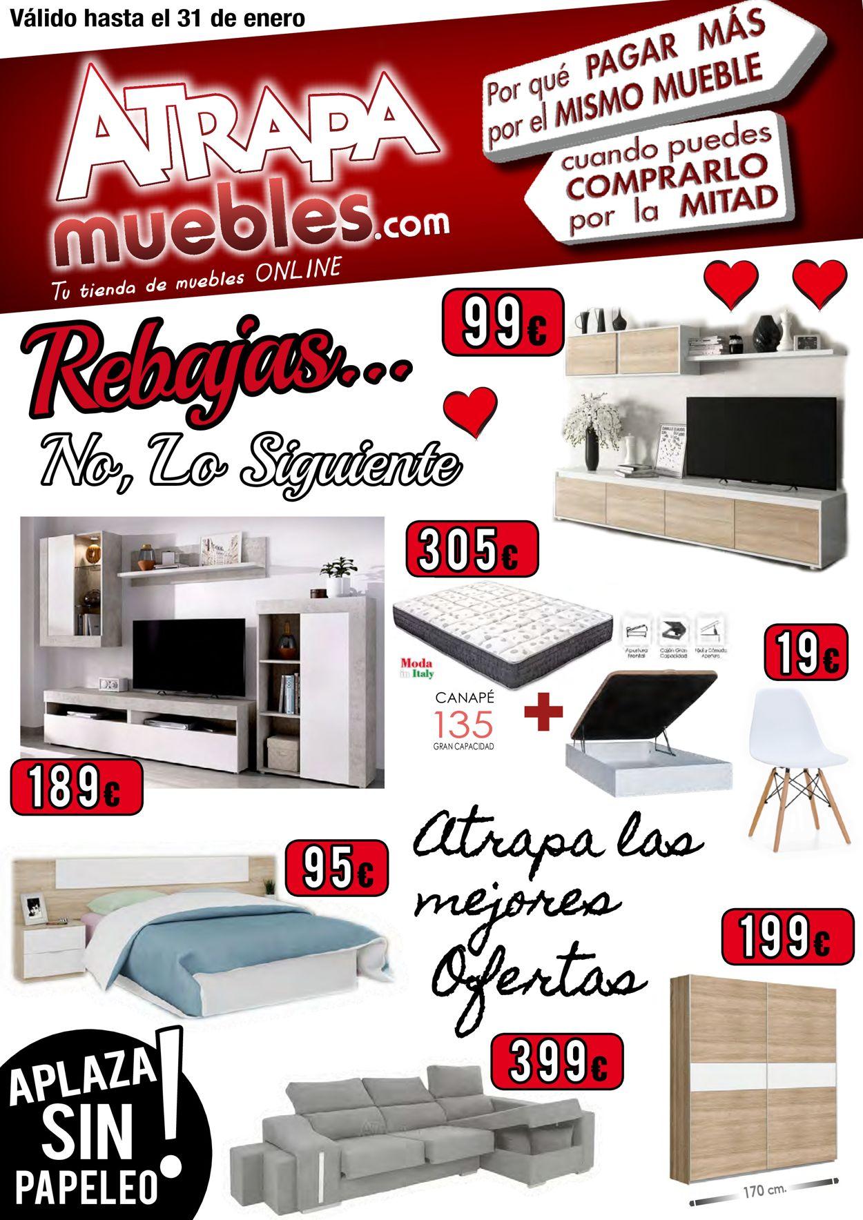 Atrapamuebles Catalogo Muebles Enero 2021 Folleto - 18.01-31.01.2021
