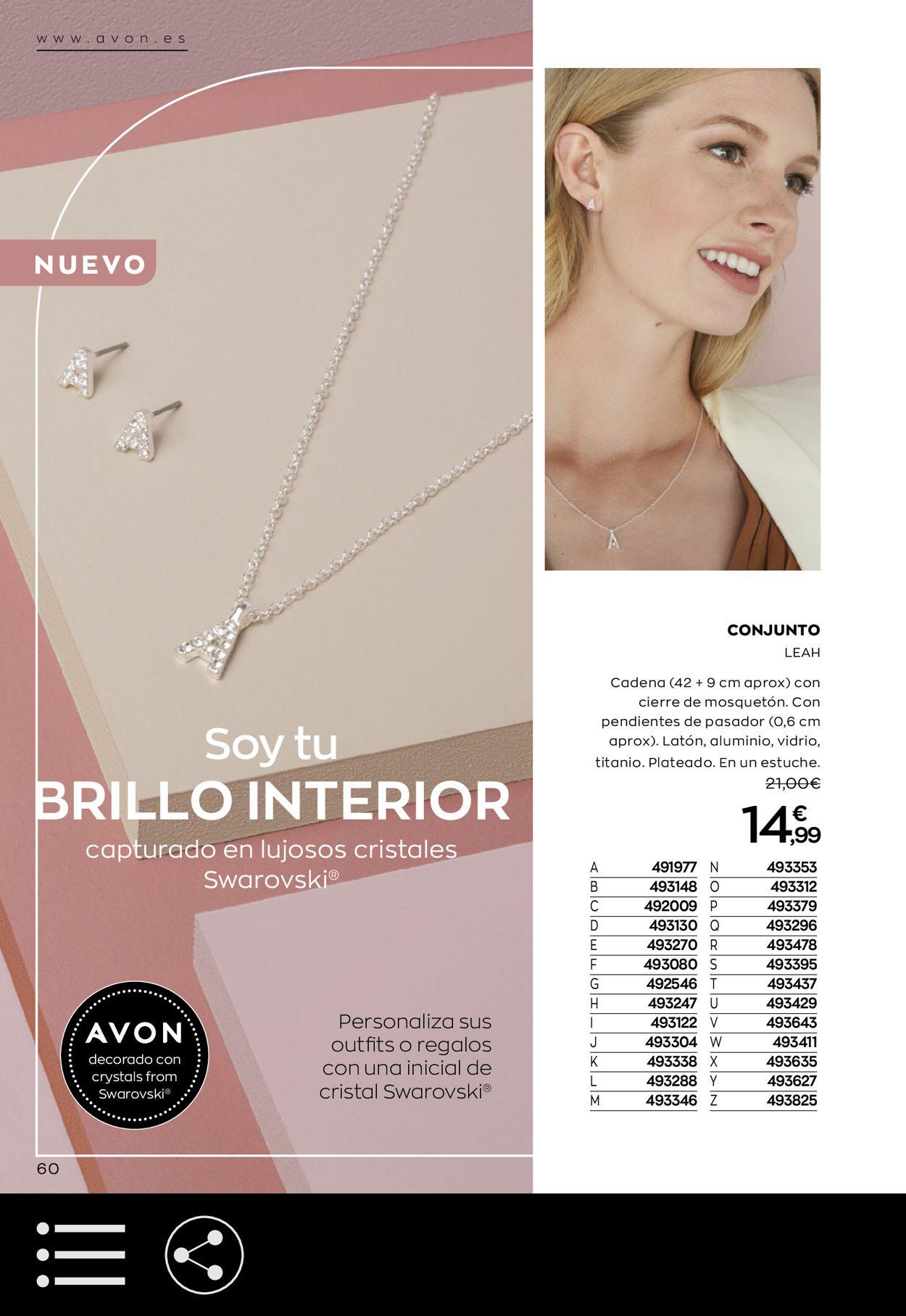 Avon Folleto - 03.10-29.10.2020 (Página 60)