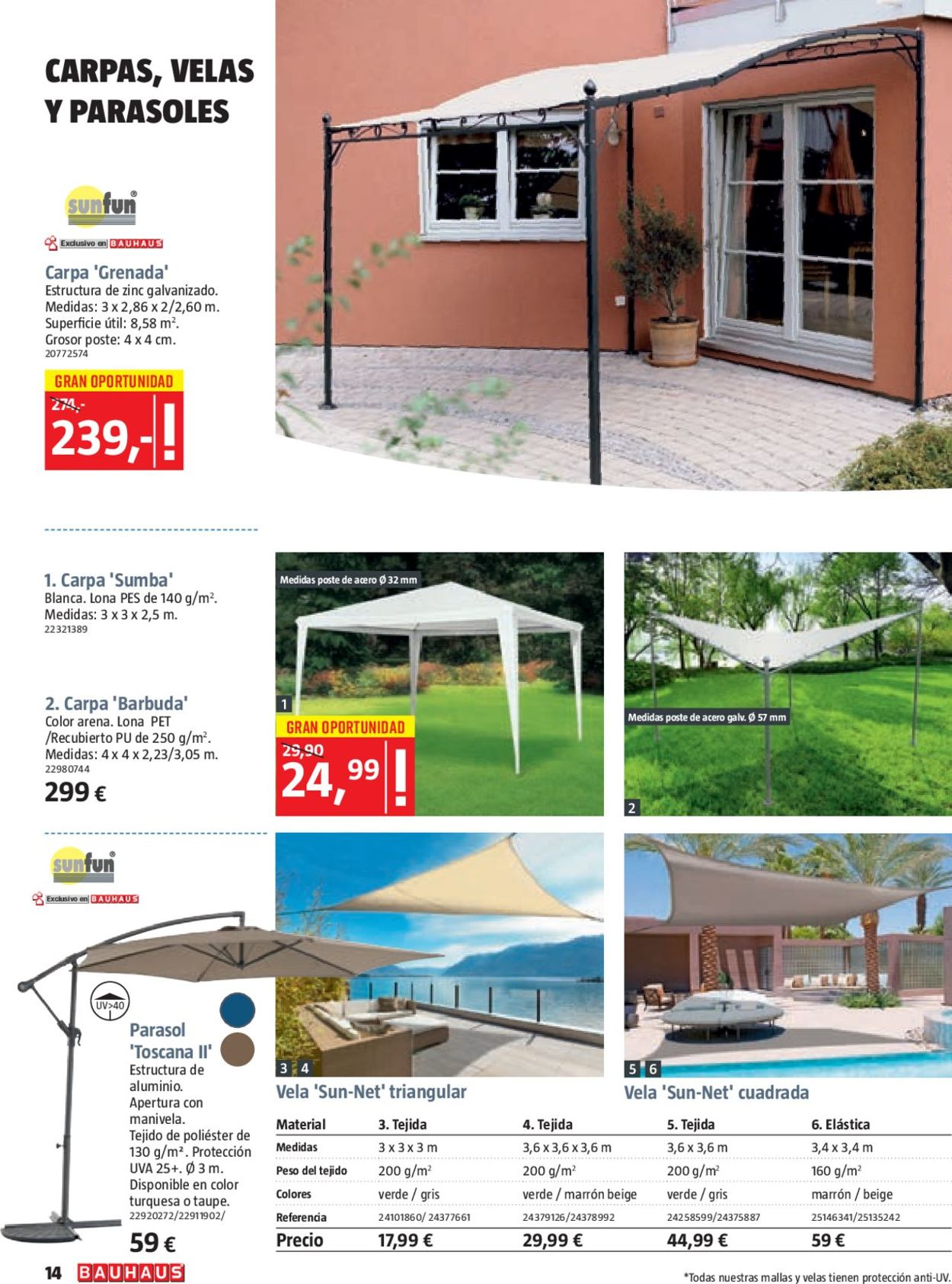 Bauhaus Folleto - 07.06-27.06.2019 (Página 14)