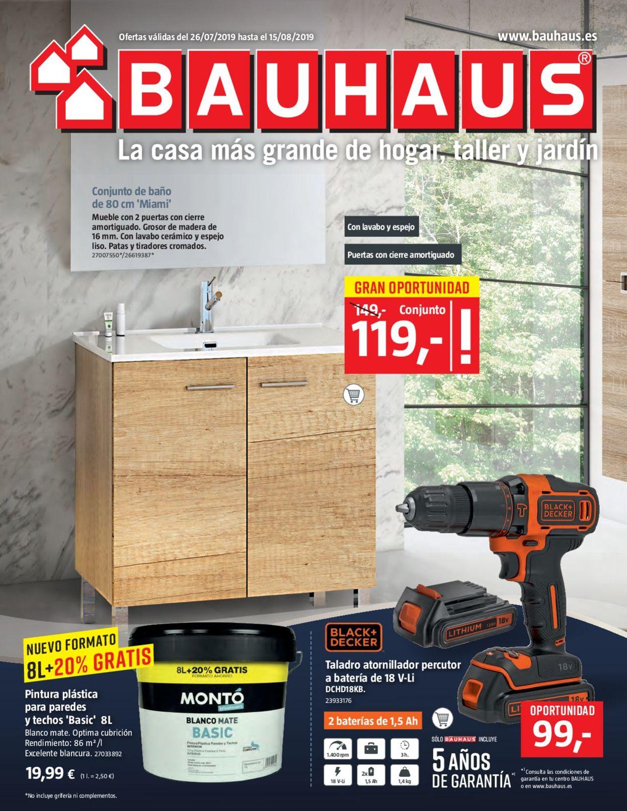 Bauhaus Folleto - 26.07-15.08.2019