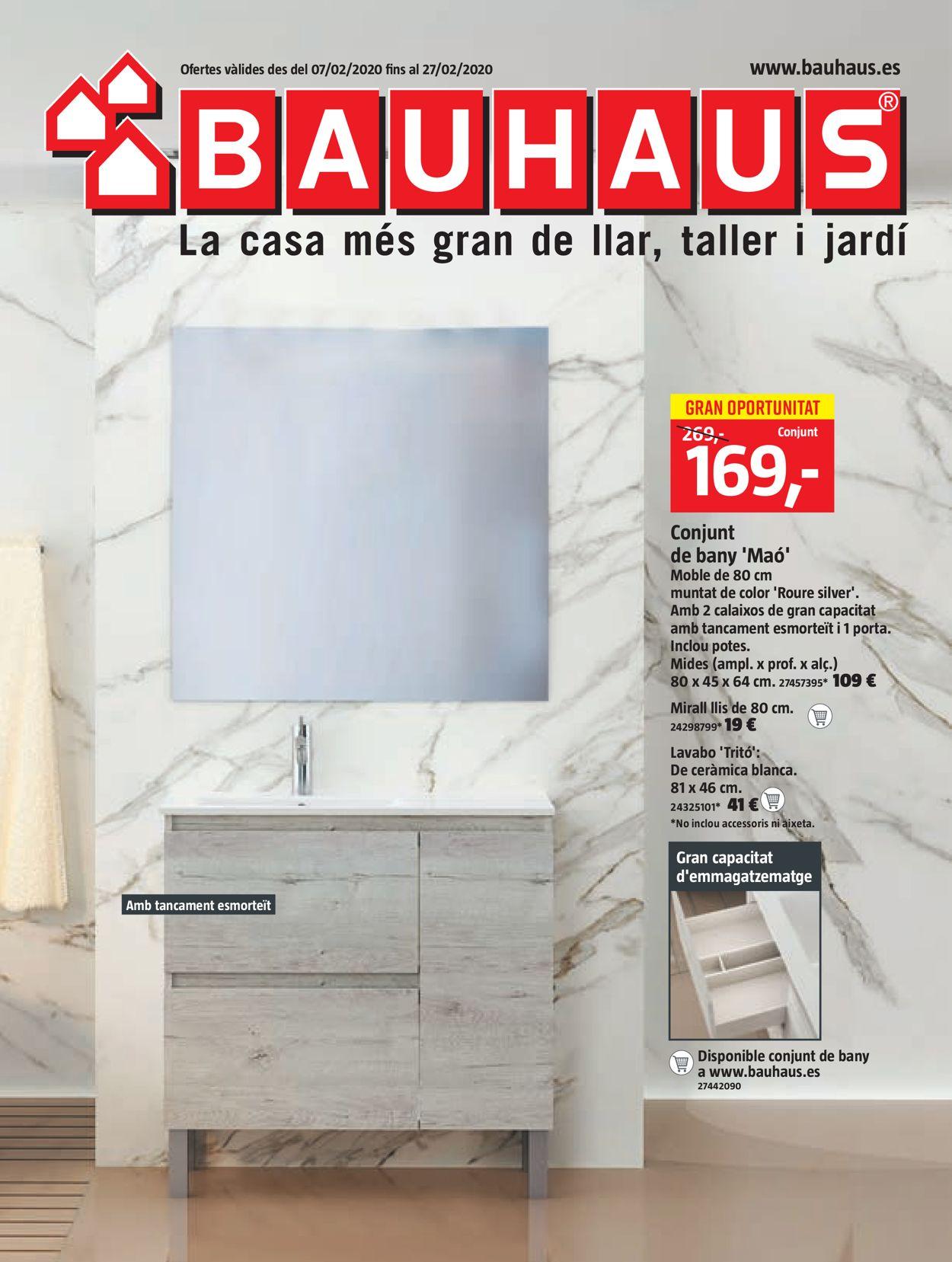 Bauhaus Folleto - 07.02-27.02.2020