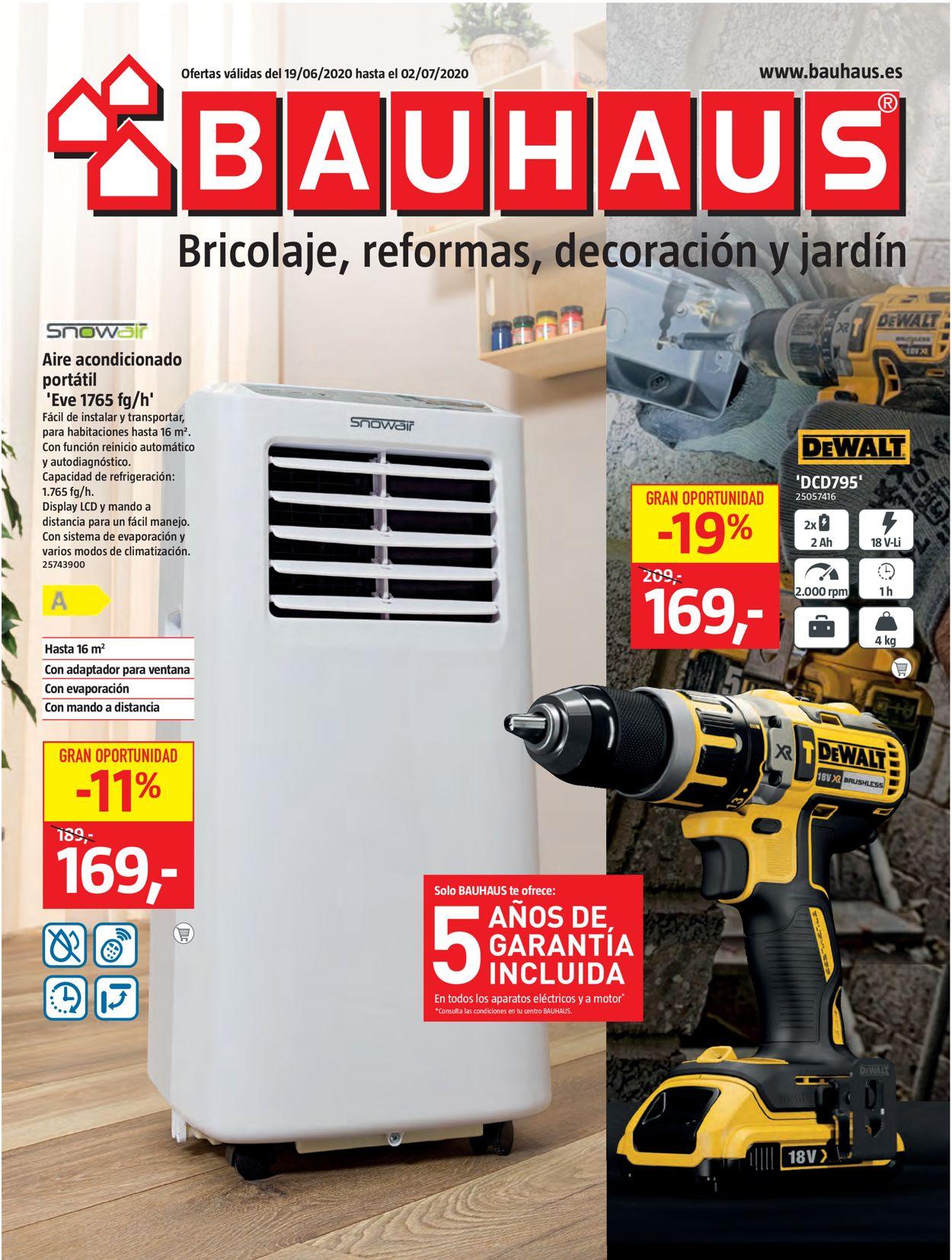 Bauhaus Folleto - 19.06-02.07.2020