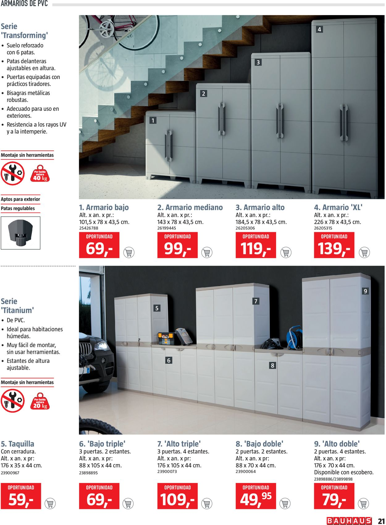 Bauhaus Folleto - 17.07-30.07.2020 (Página 21)