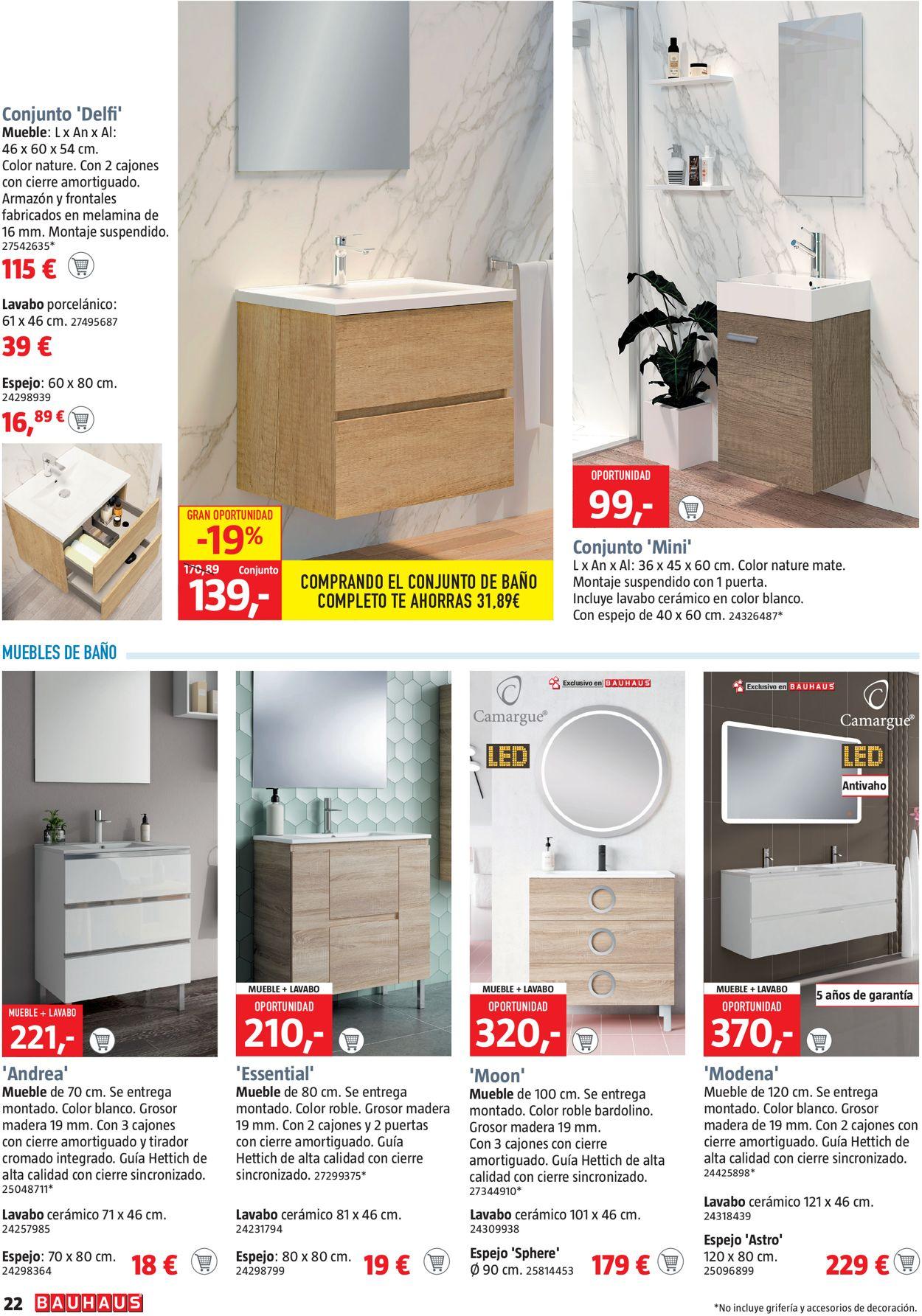 Bauhaus Folleto - 17.07-30.07.2020 (Página 22)