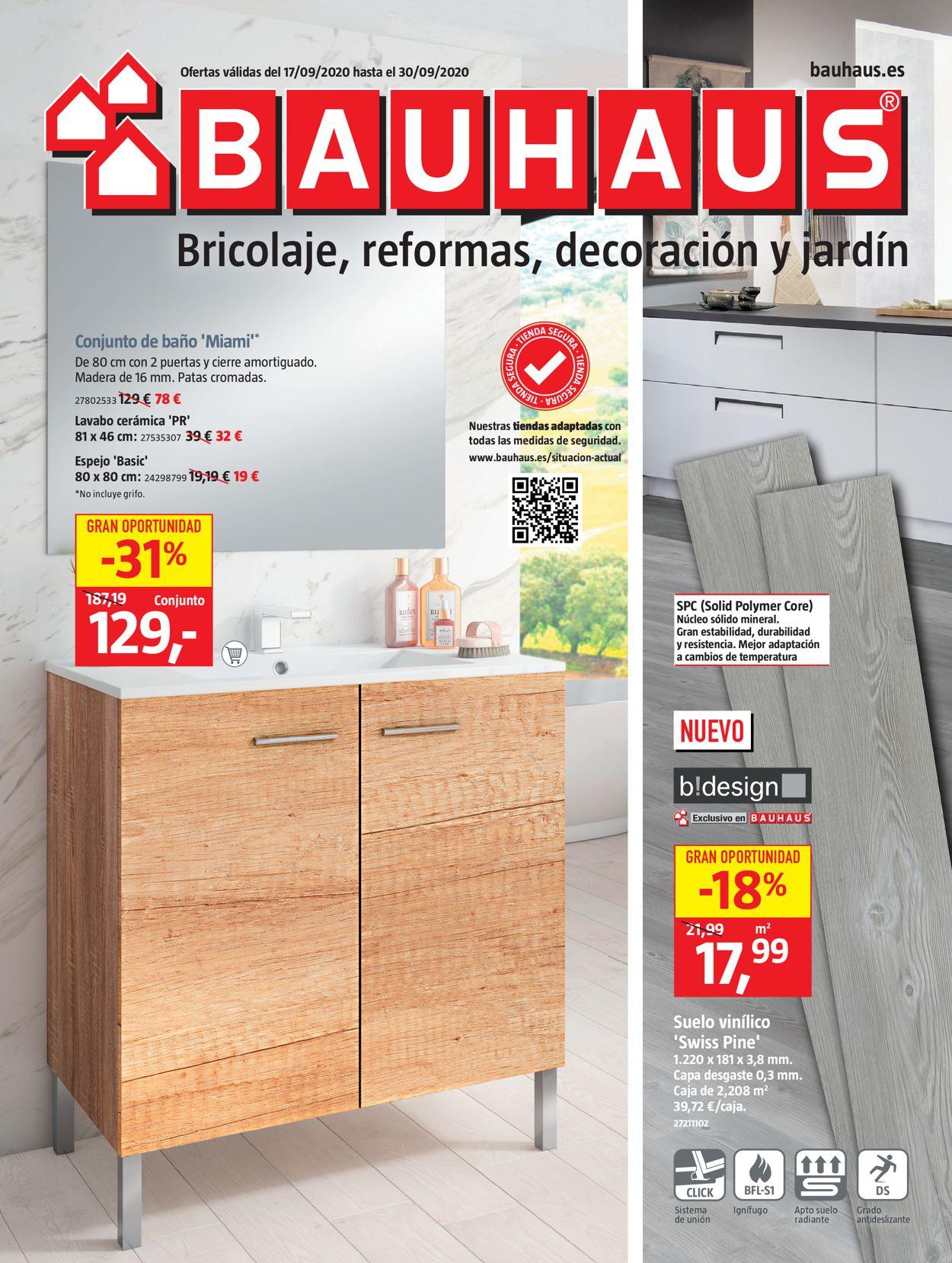 Bauhaus Folleto - 17.09-30.09.2020