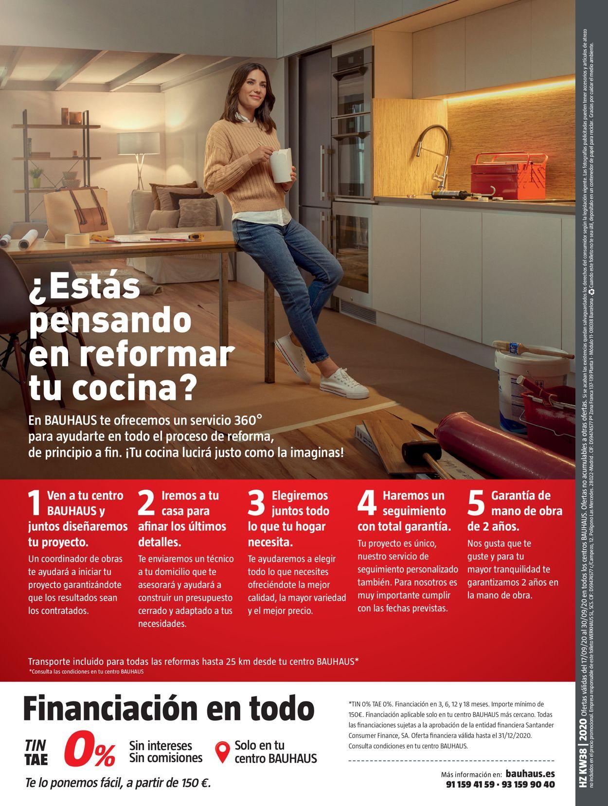 Bauhaus Folleto - 17.09-30.09.2020 (Página 32)