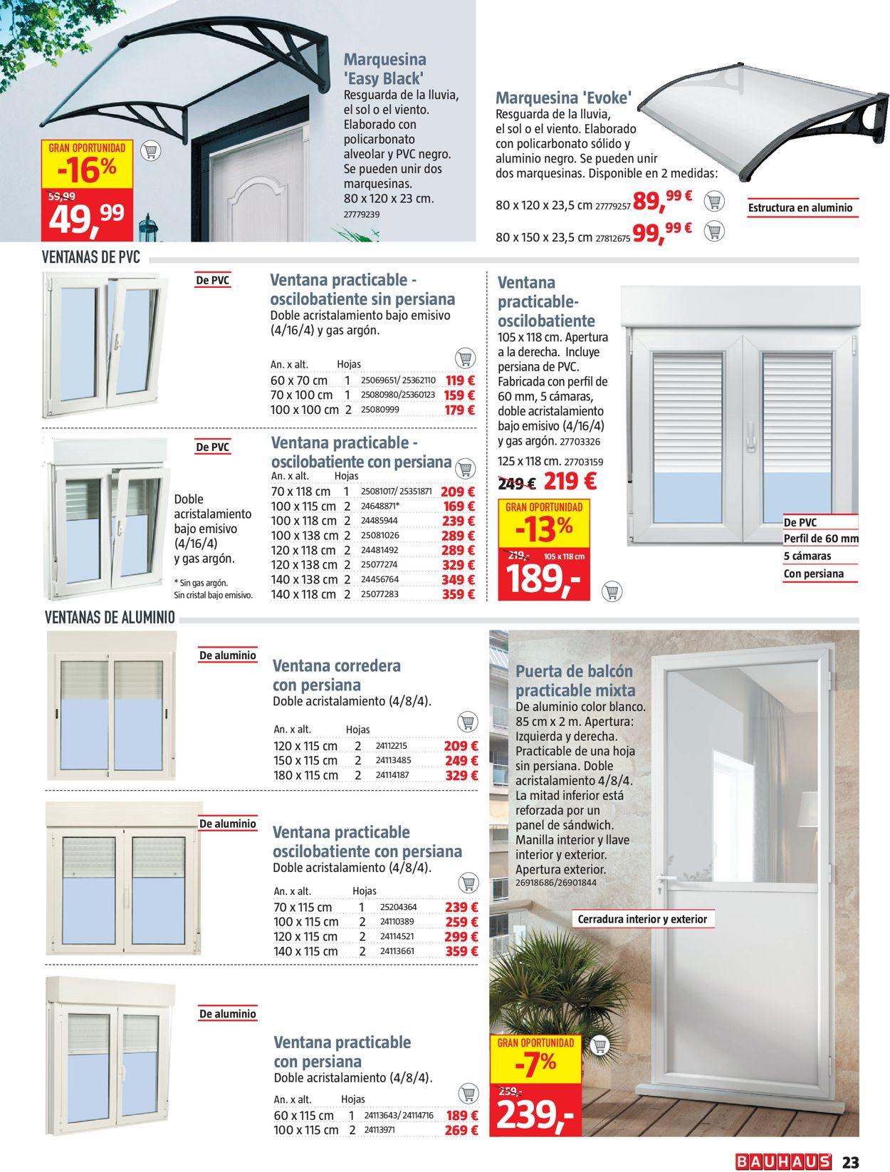 Bauhaus Navidad 2020 Folleto - 05.11-19.11.2020 (Página 23)