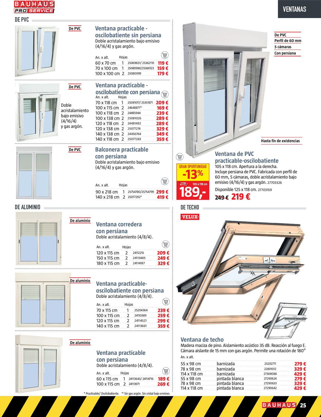 Bauhaus Folleto - 04.12-31.12.2020 (Página 25)