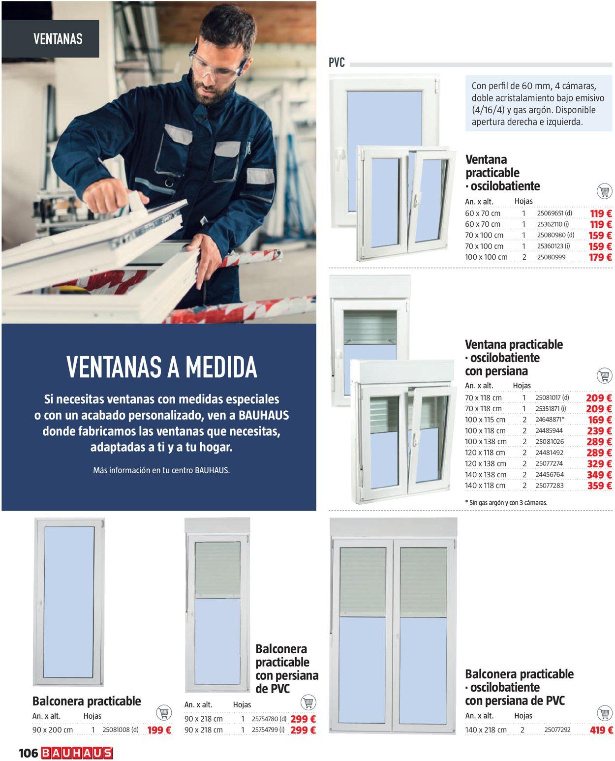 Bauhaus Folleto - 11.02-10.03.2021 (Página 106)