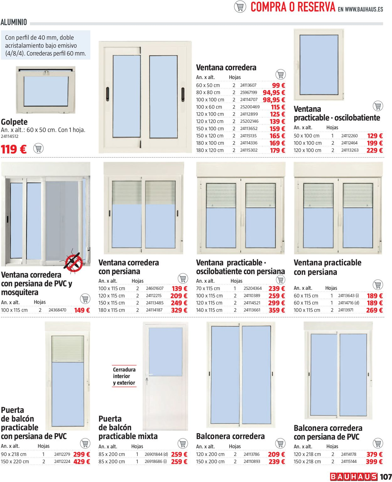 Bauhaus Folleto - 11.02-10.03.2021 (Página 107)