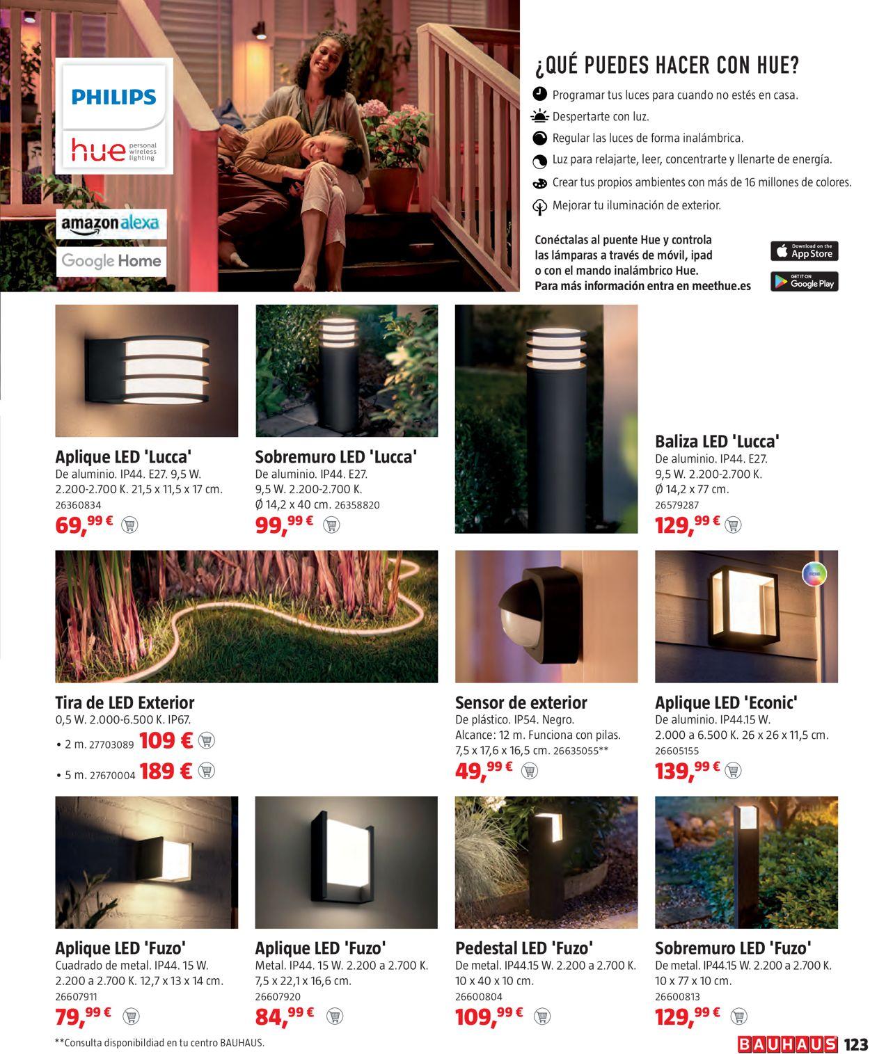 Bauhaus Mobiliario de terraza y jardín Folleto - 18.03-18.04.2021 (Página 123)