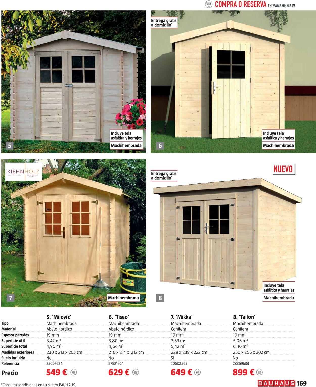 Bauhaus Mobiliario de terraza y jardín Folleto - 18.03-18.04.2021 (Página 169)