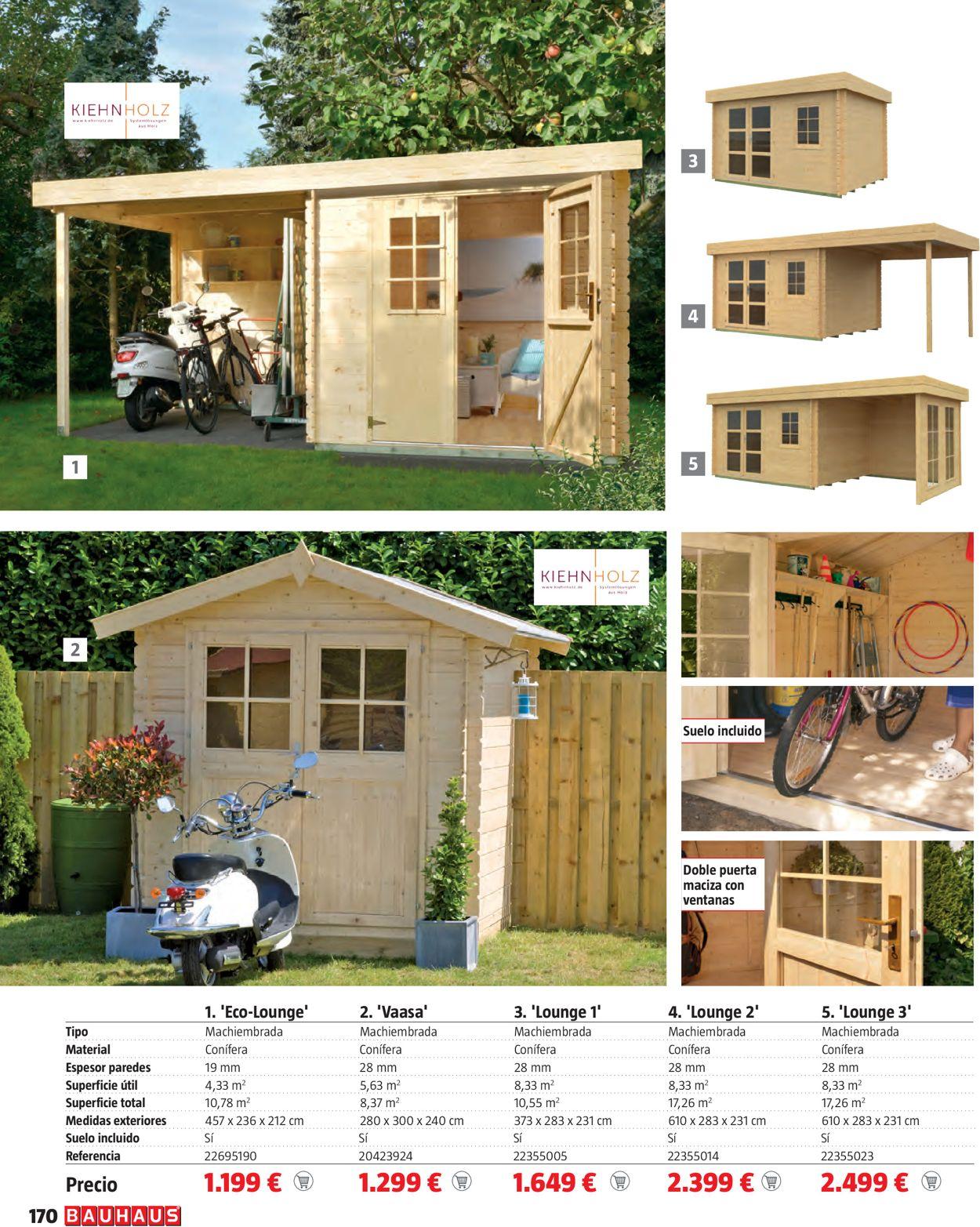Bauhaus Mobiliario de terraza y jardín Folleto - 18.03-18.04.2021 (Página 170)