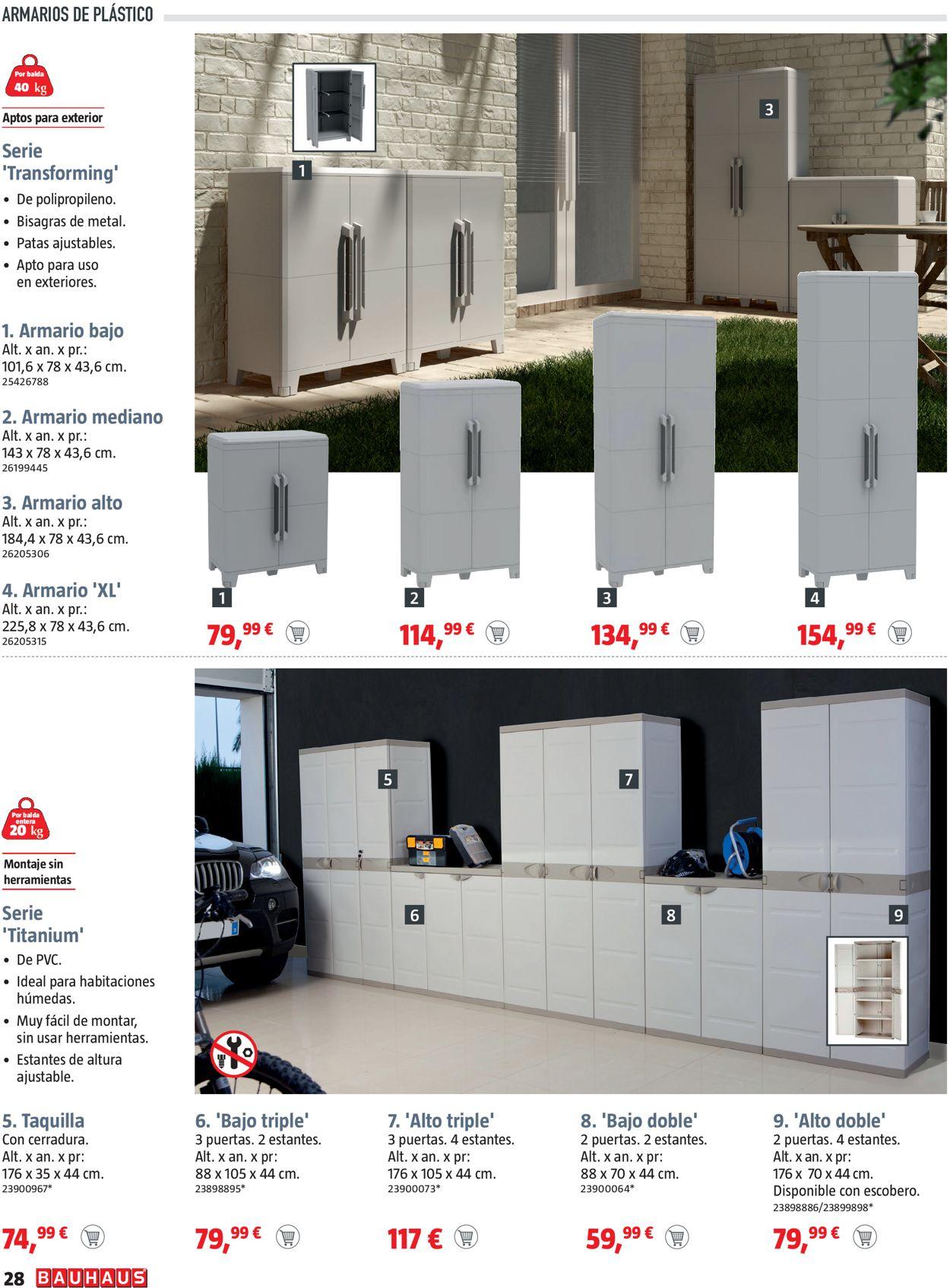 Bauhaus Folleto - 25.03-14.04.2021 (Página 28)
