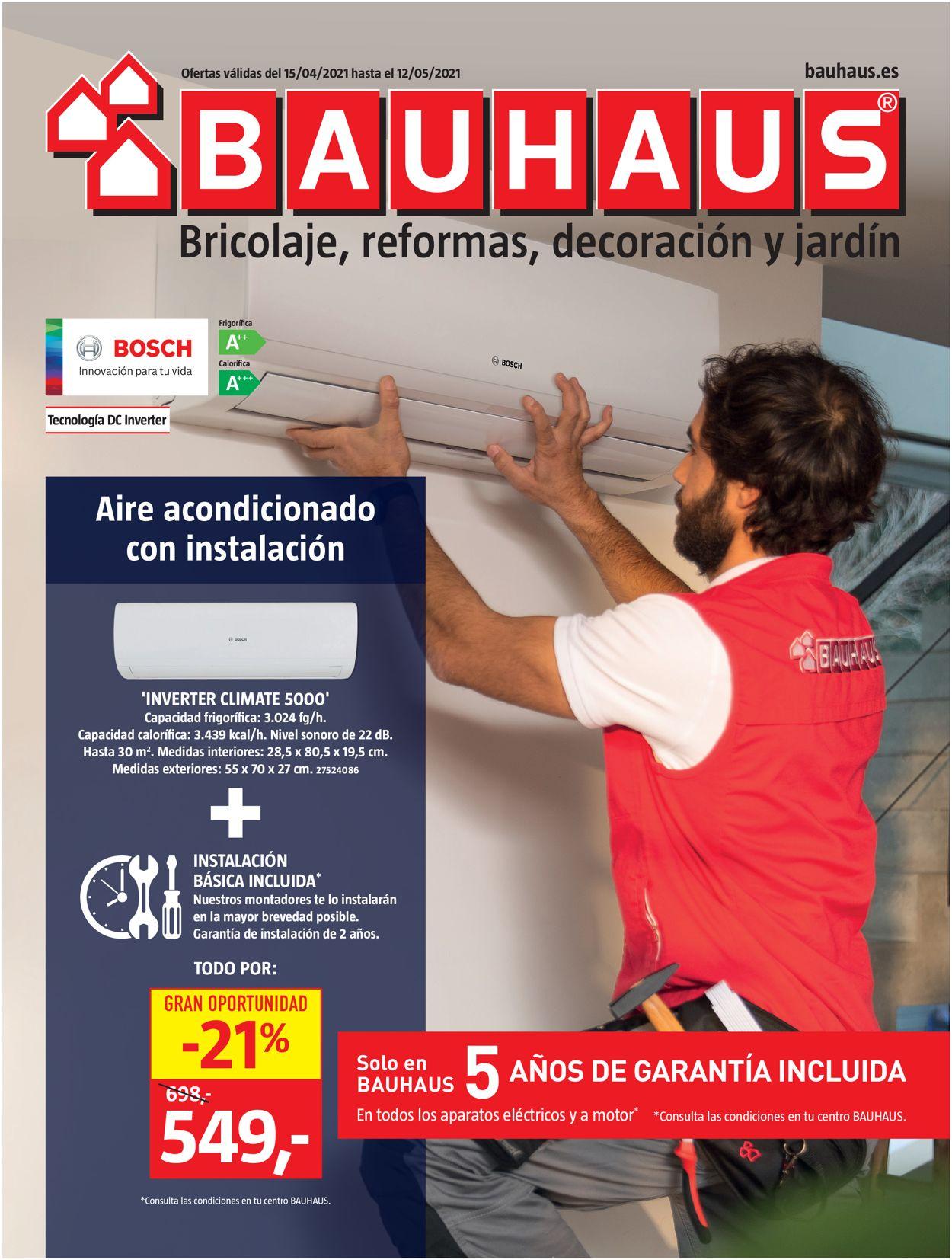 Bauhaus Folleto - 15.04-12.05.2021