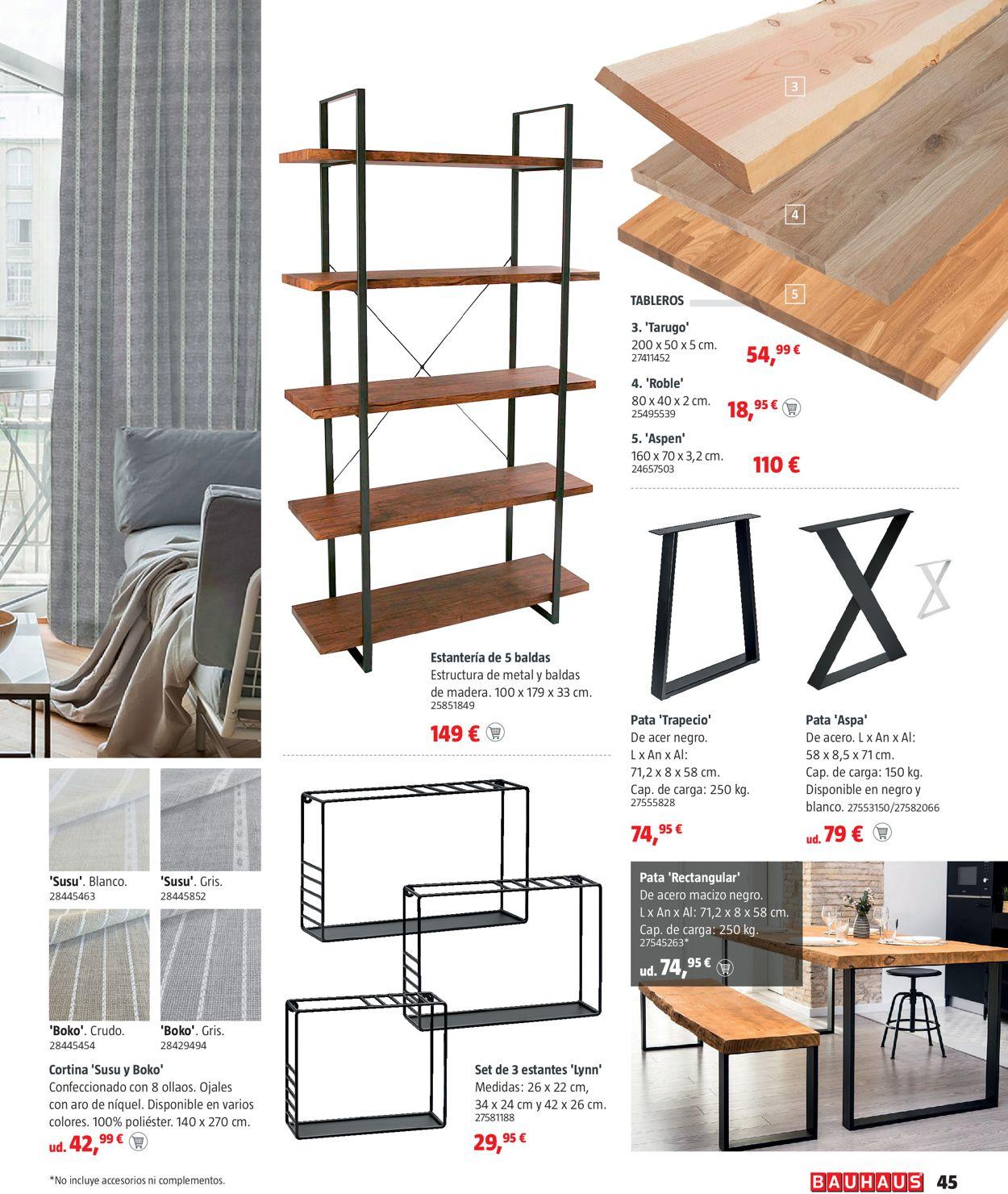 Bauhaus Folleto - 13.05-09.06.2021 (Página 45)