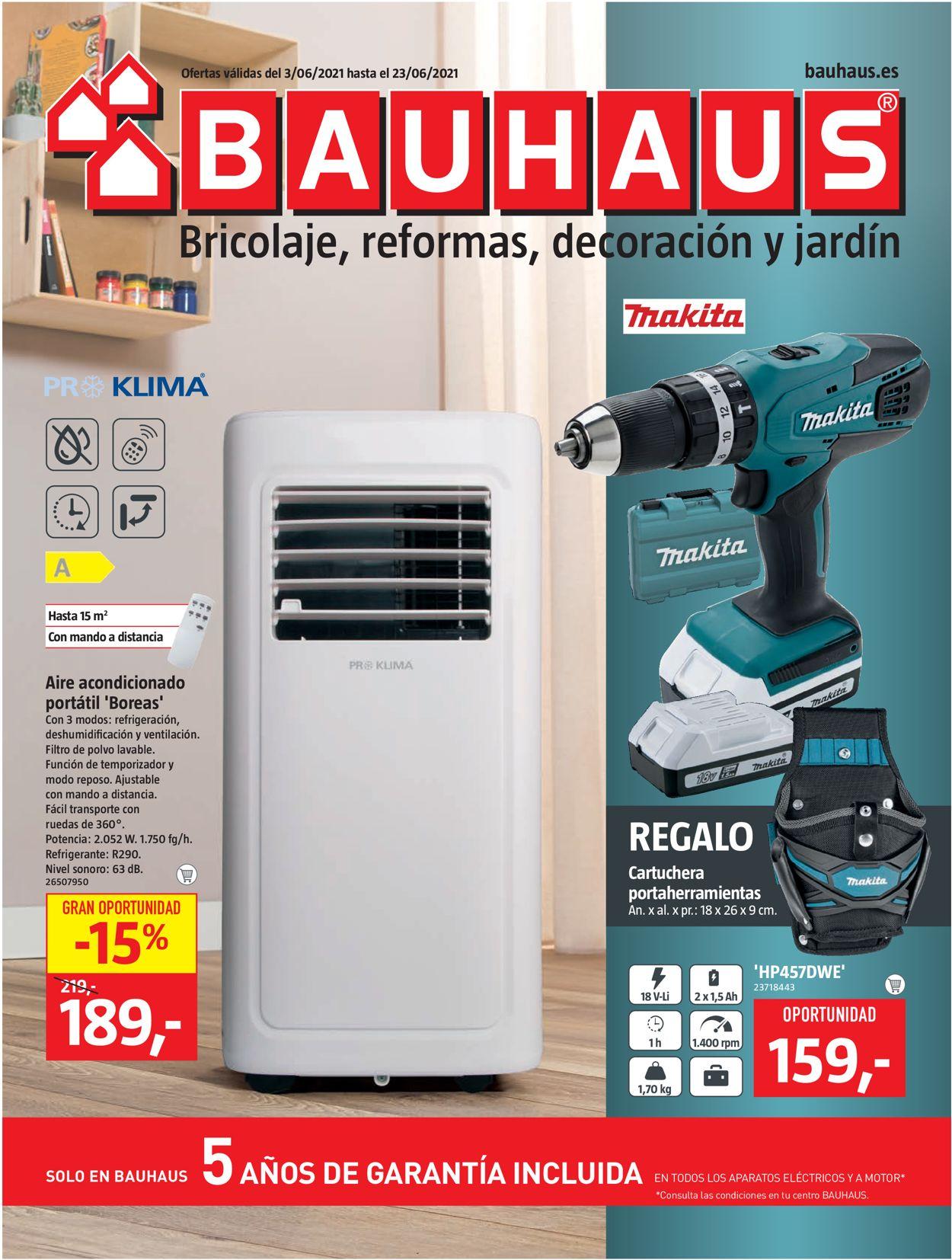 Bauhaus Folleto - 03.06-23.06.2021