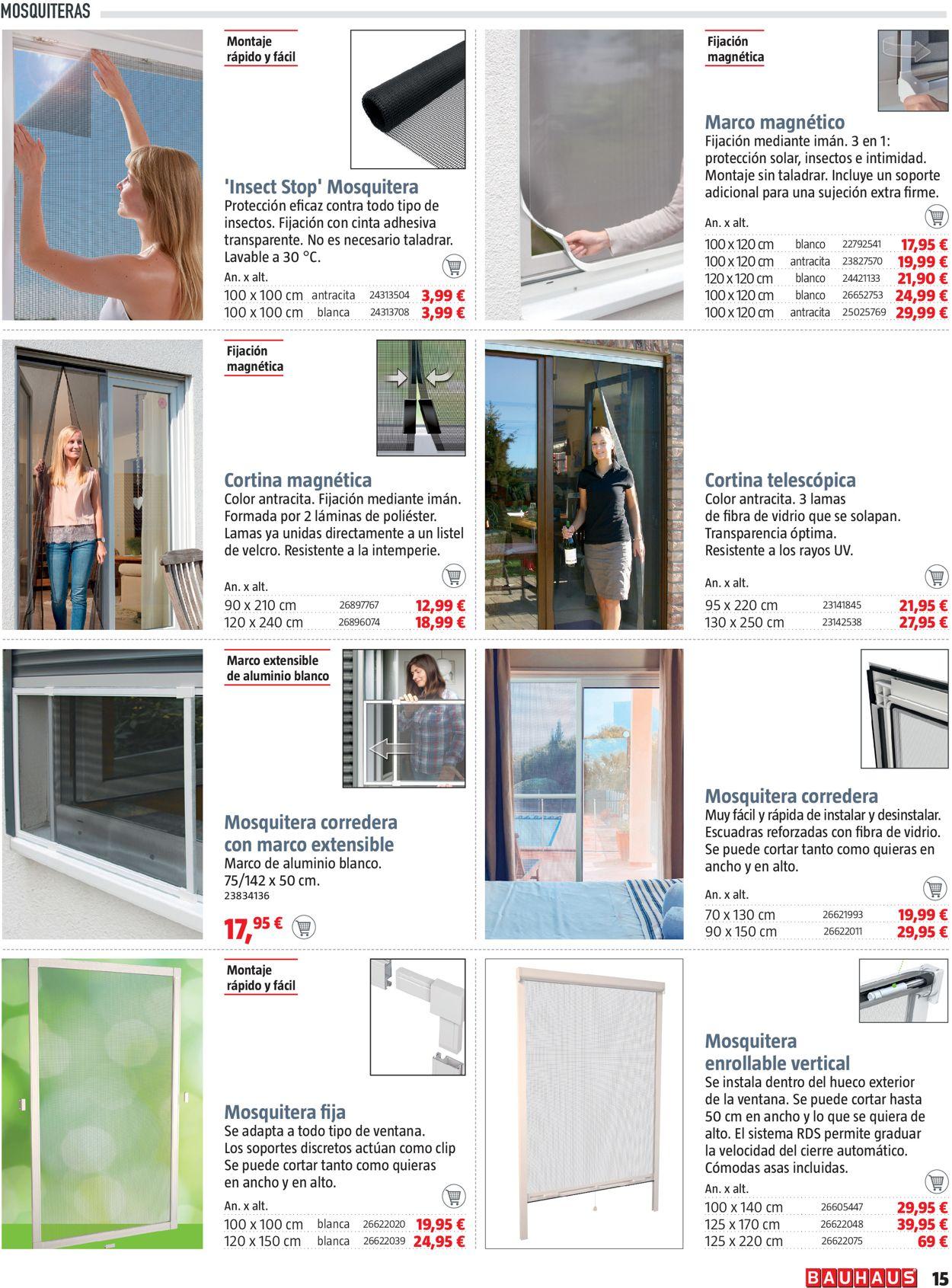 Bauhaus Folleto - 08.07-28.07.2021 (Página 15)